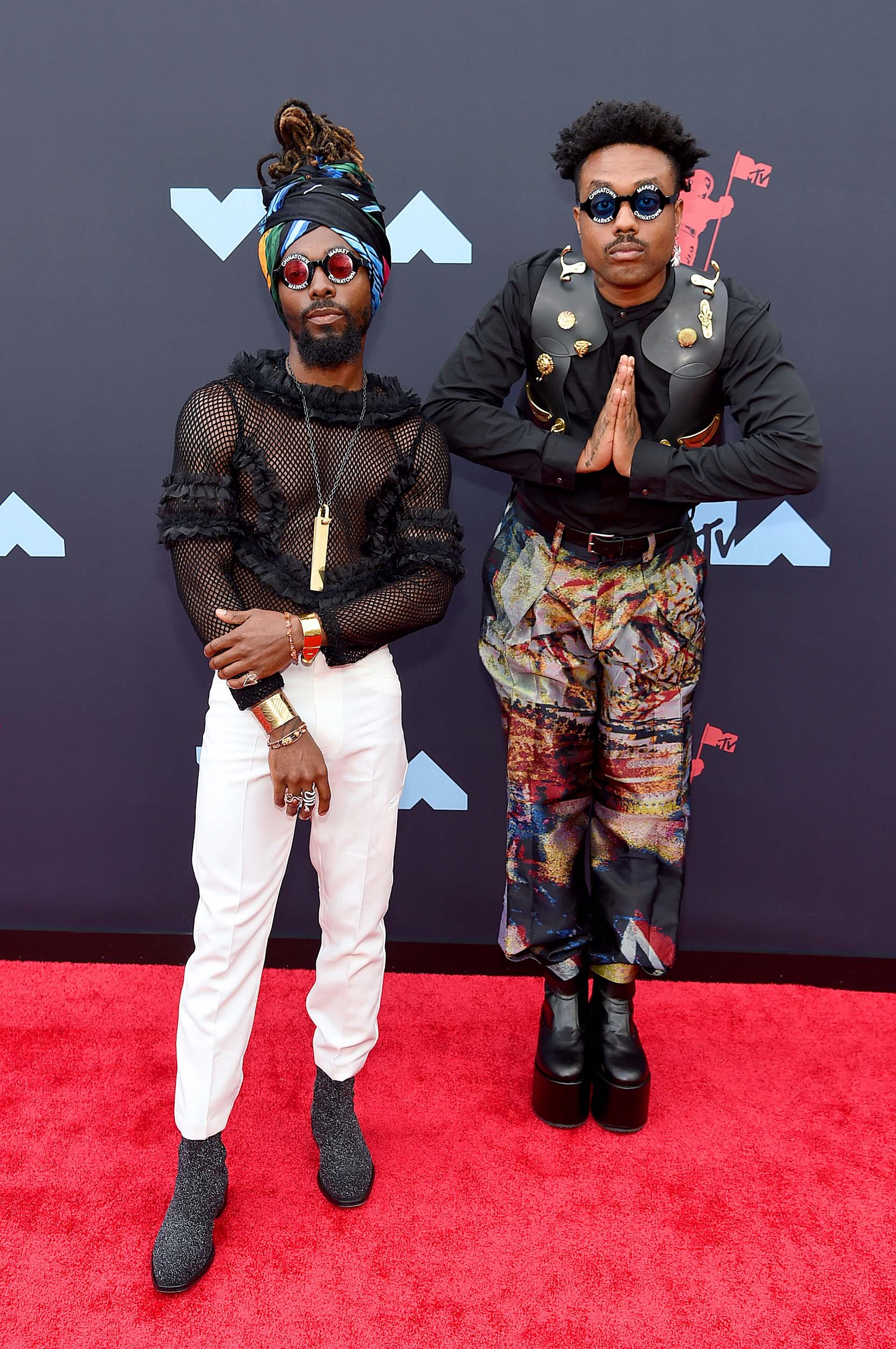 El dúo de hip hop EarthGang