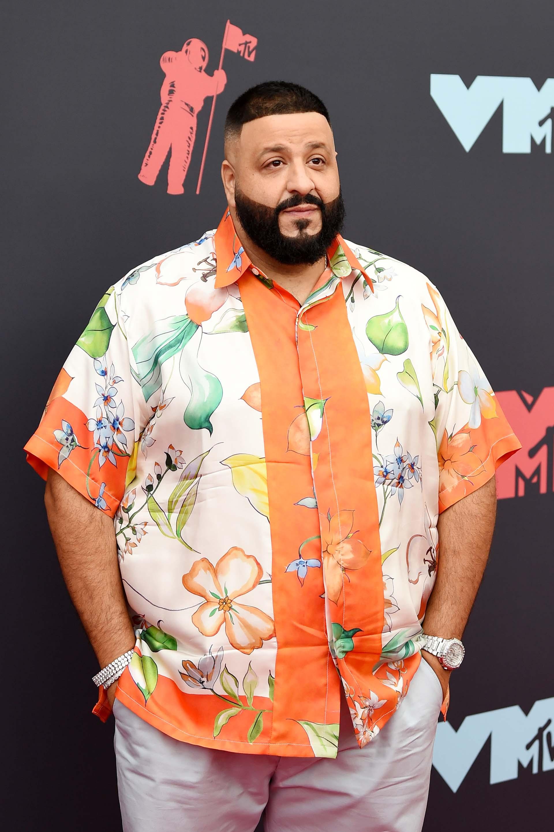 DJ y productor Khaled fue otro de los famosos que eligió un look informal para la premiación