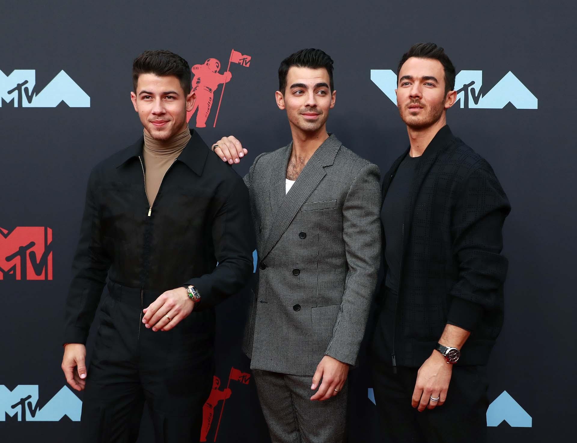 Los Jonas Brothers vuelven a los MTV Video Music Awards tras diez años de ausencia