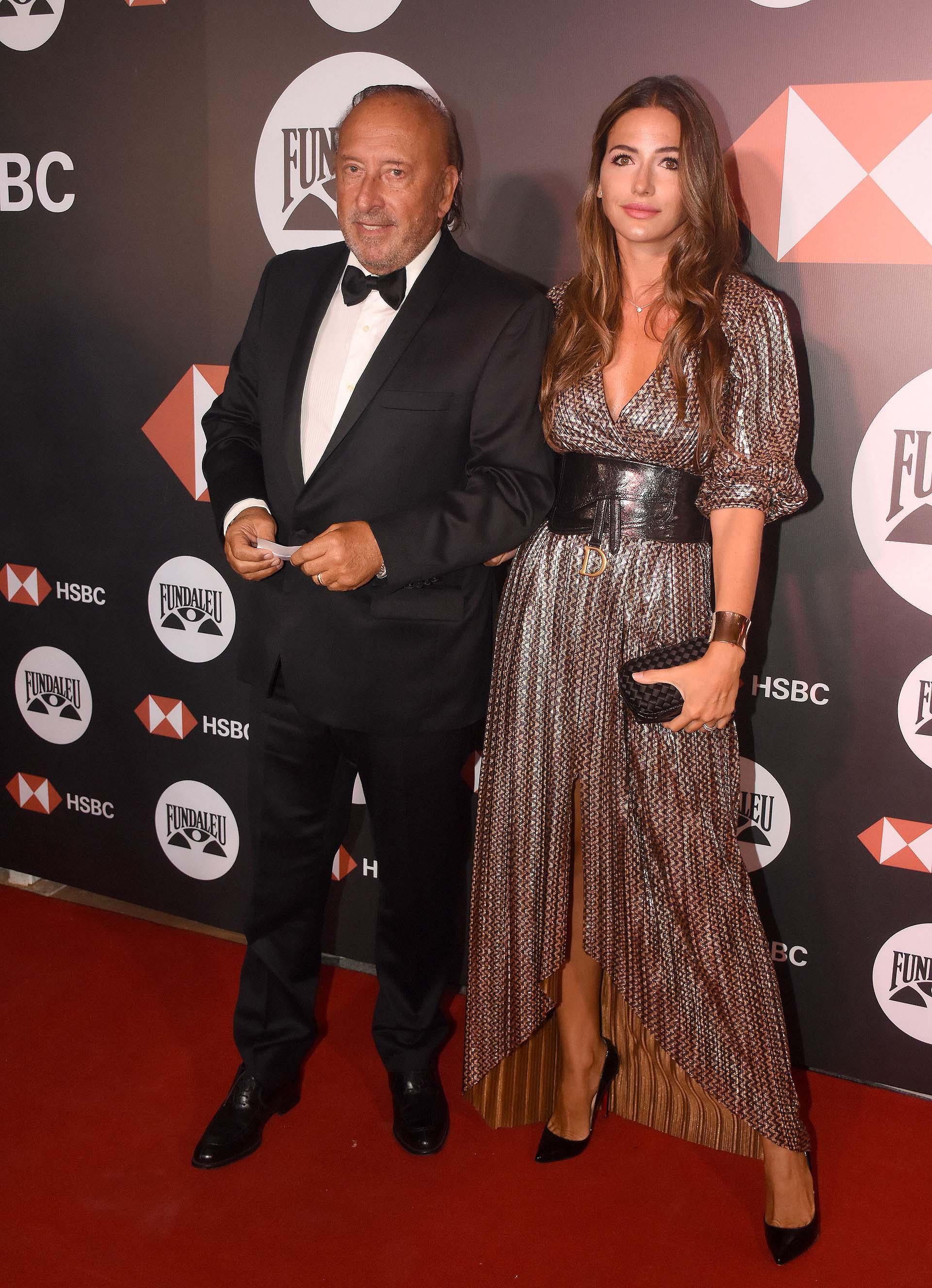Mauricio Filiberti, dueño de Transclor, y su mujer Camila Pitana