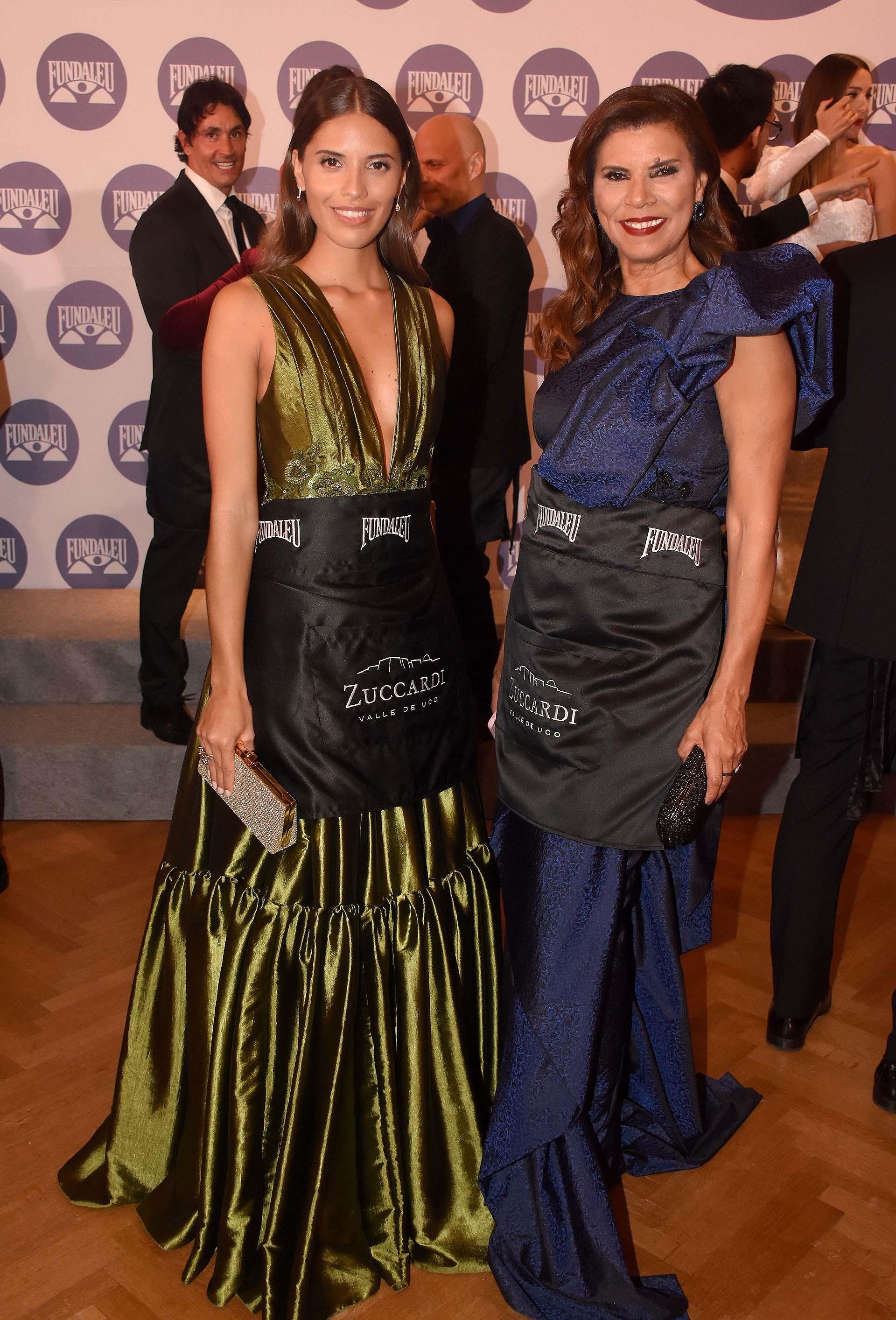 Hija y madre: las modelos Taina Laurino Ferreira y Anamá Ferreira