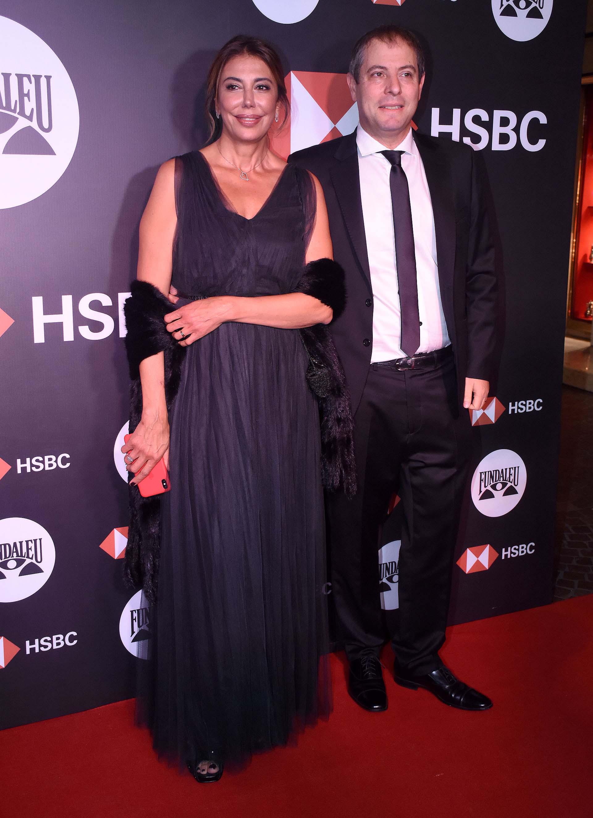 La médica Griselda Seleme y su marido Marcelo Perinotti