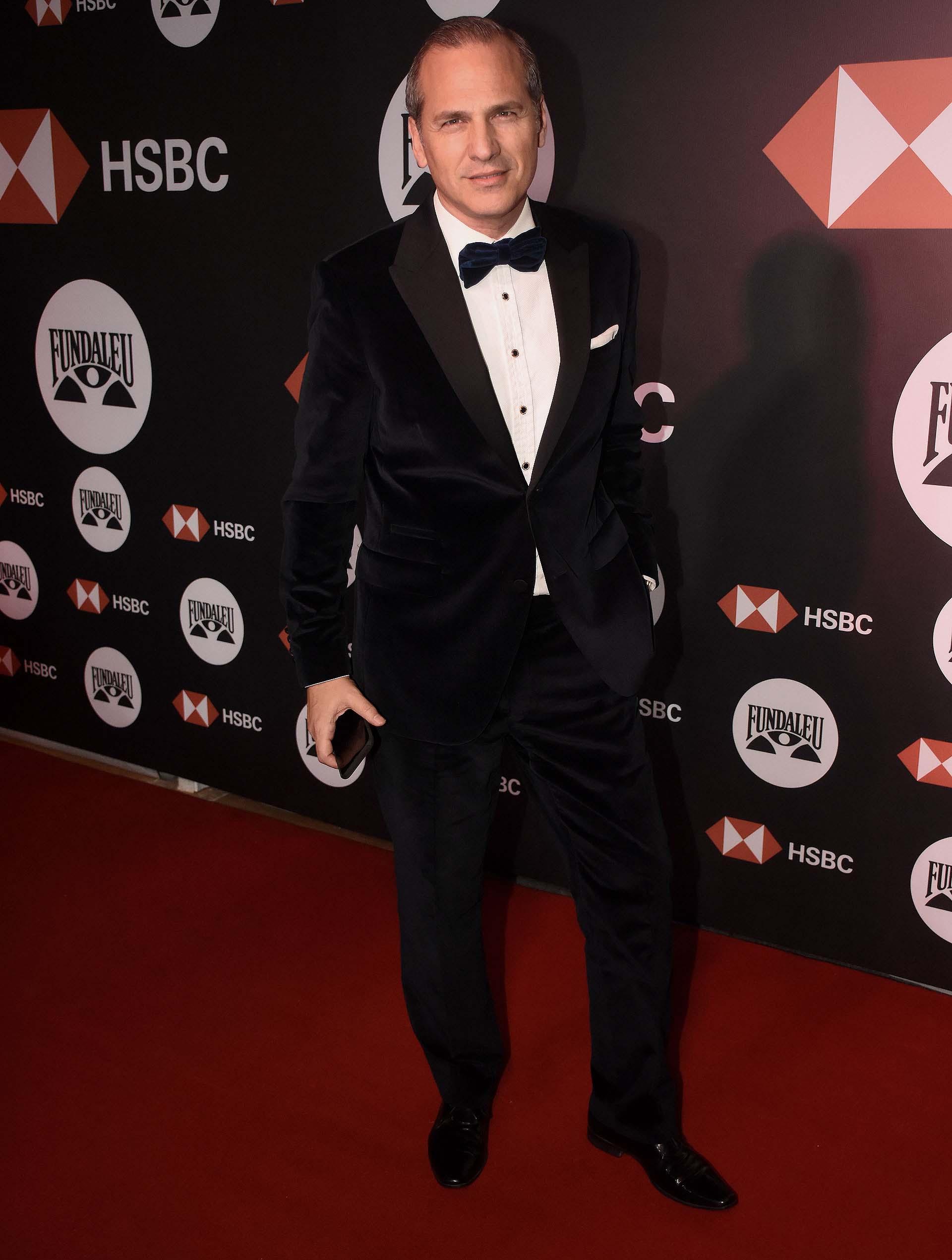 Javier Iturrioz estuvo a cargo de la ambientación de la gala