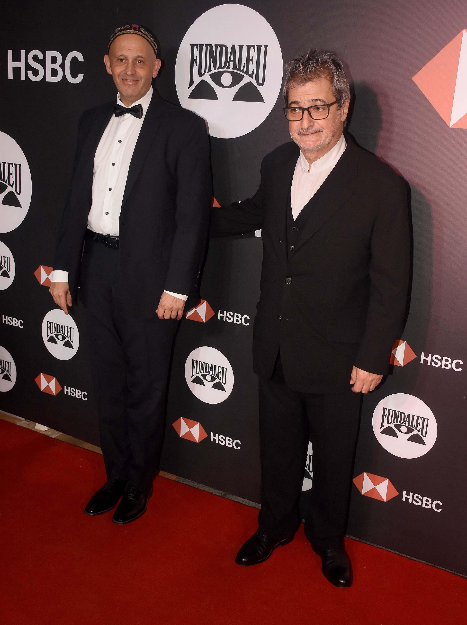 El secretario de Ambiente y Desarrollo Sustentable, Sergio Bergman, y Eduardo Cohen