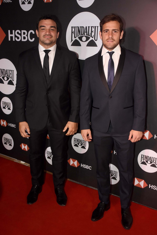 Nico Sánchez y Agustín Creevy, jugadores de Los Pumas