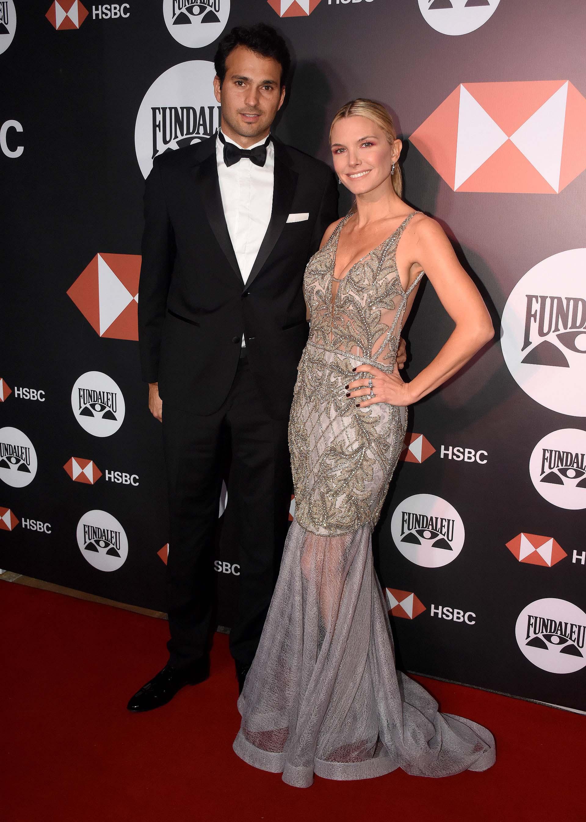 Sofía Zámolo y su marido Joe Uriburu