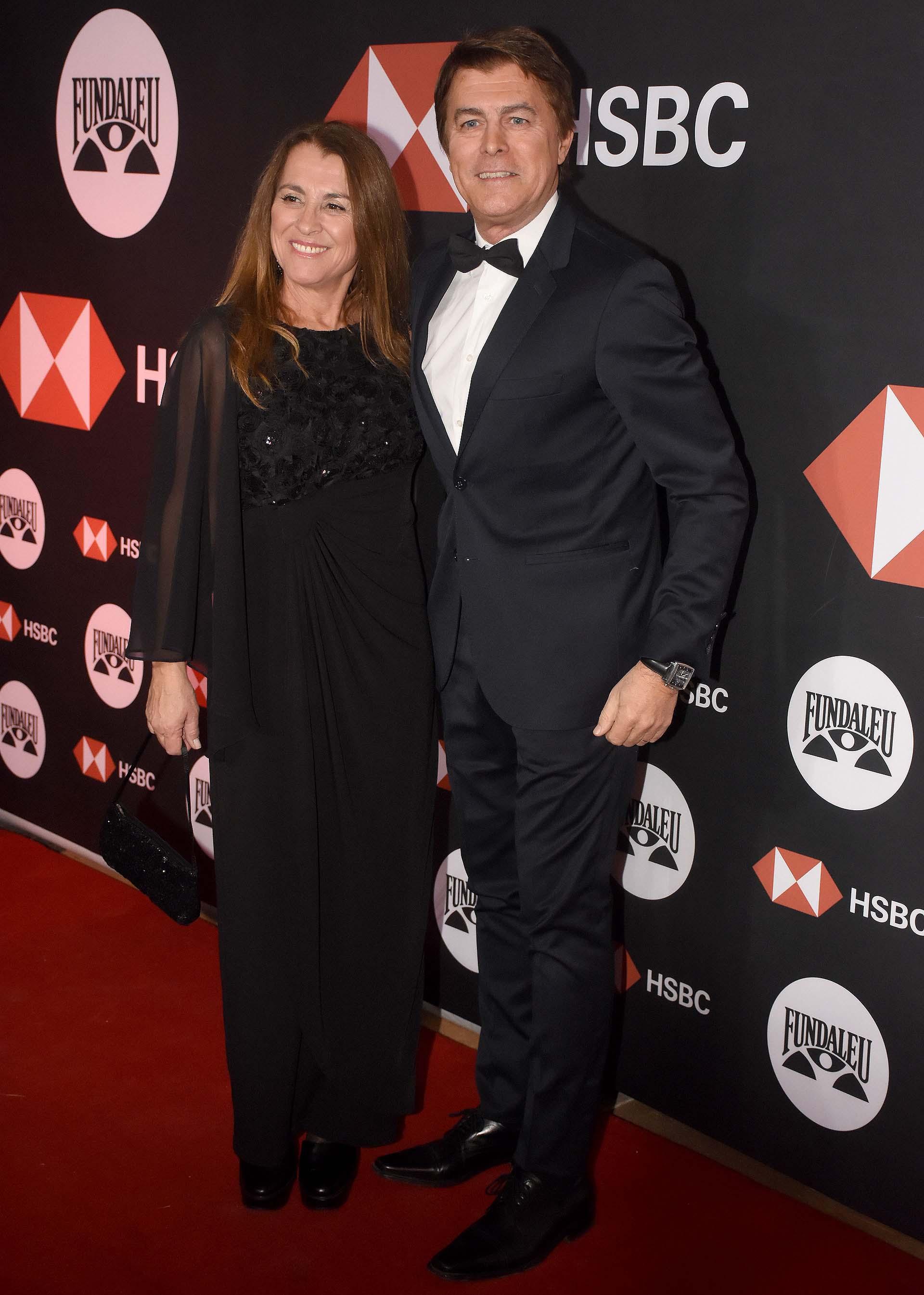 Gabriel Corrado y su mujer Constanza Feraud