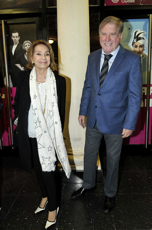 Selva Aleman y Arturo Puig (Fotos: Darío Batallan / Teleshow)