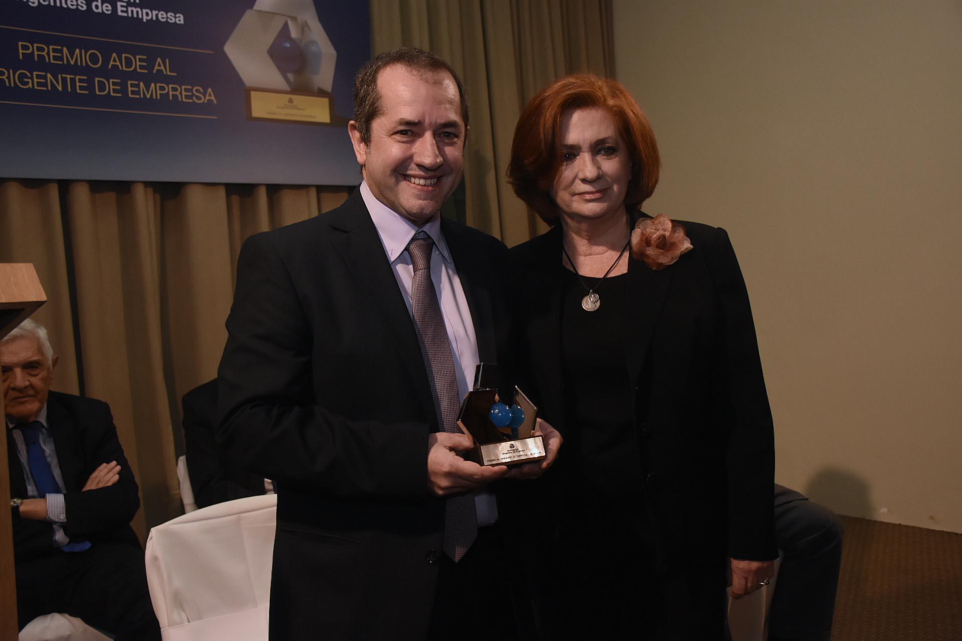Obdulio San Martín, director general de Don Mario Semillas, recibió el premio ADE 2019 en la categoría 'Agroindustria'
