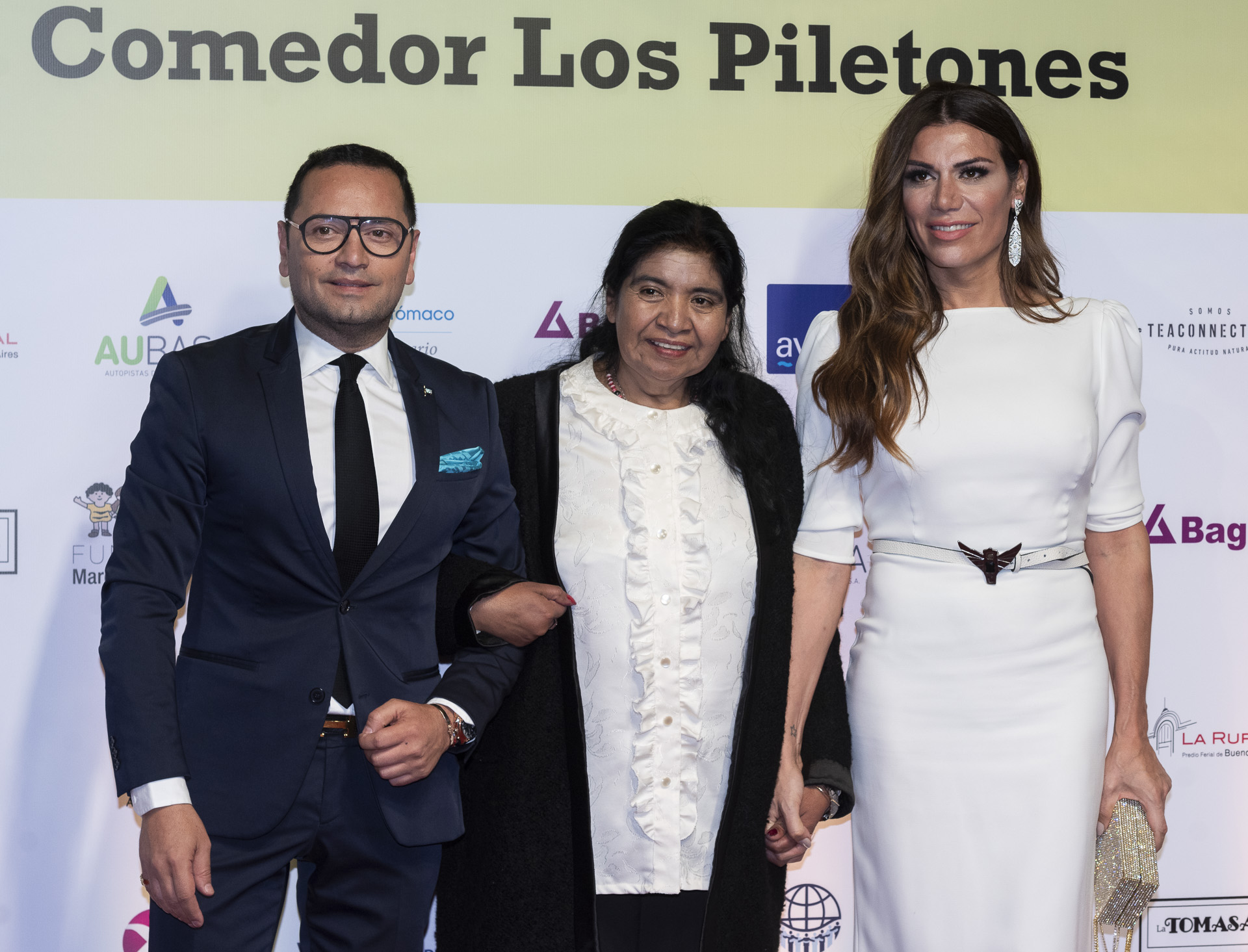 Fabián Medina Flores, Margarita Barrientos y Flor de la V
