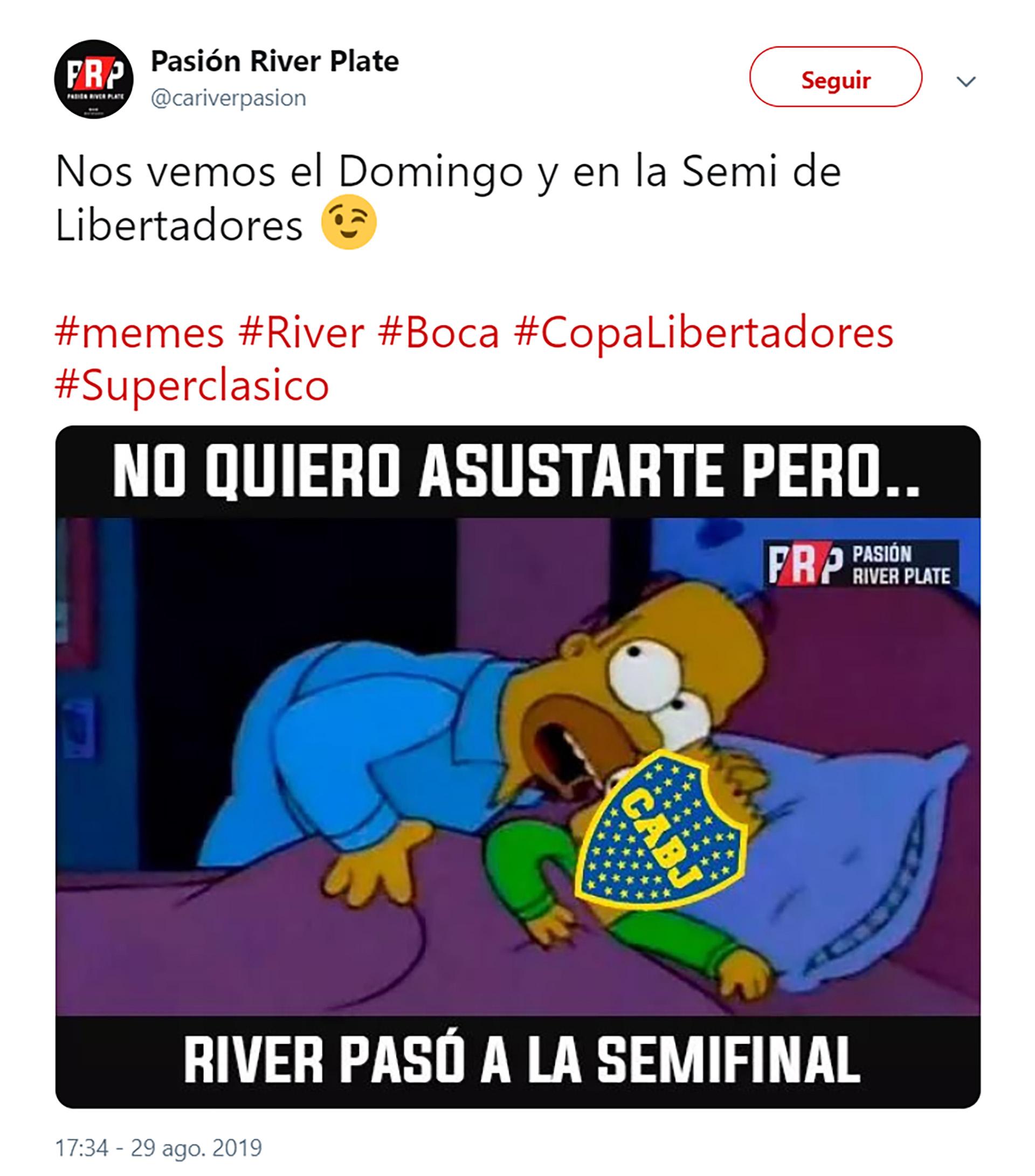 Boca Y River Volveran A Enfrentarse En La Copa Libertadores Y Estallaron Los Memes Infobae