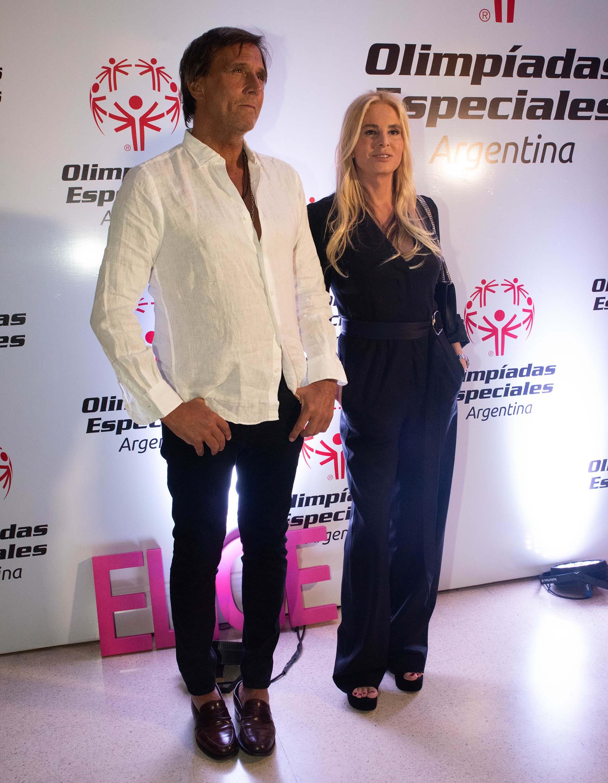 Mercedes Sarrabayrouse y su pareja Joe Miranda