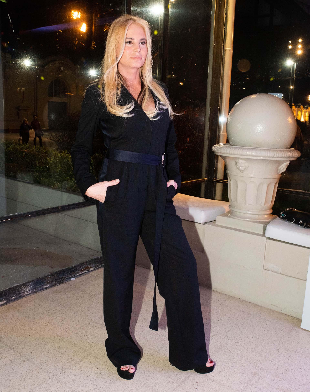 Mercedes Sarrabayrouse participó de la cena anual