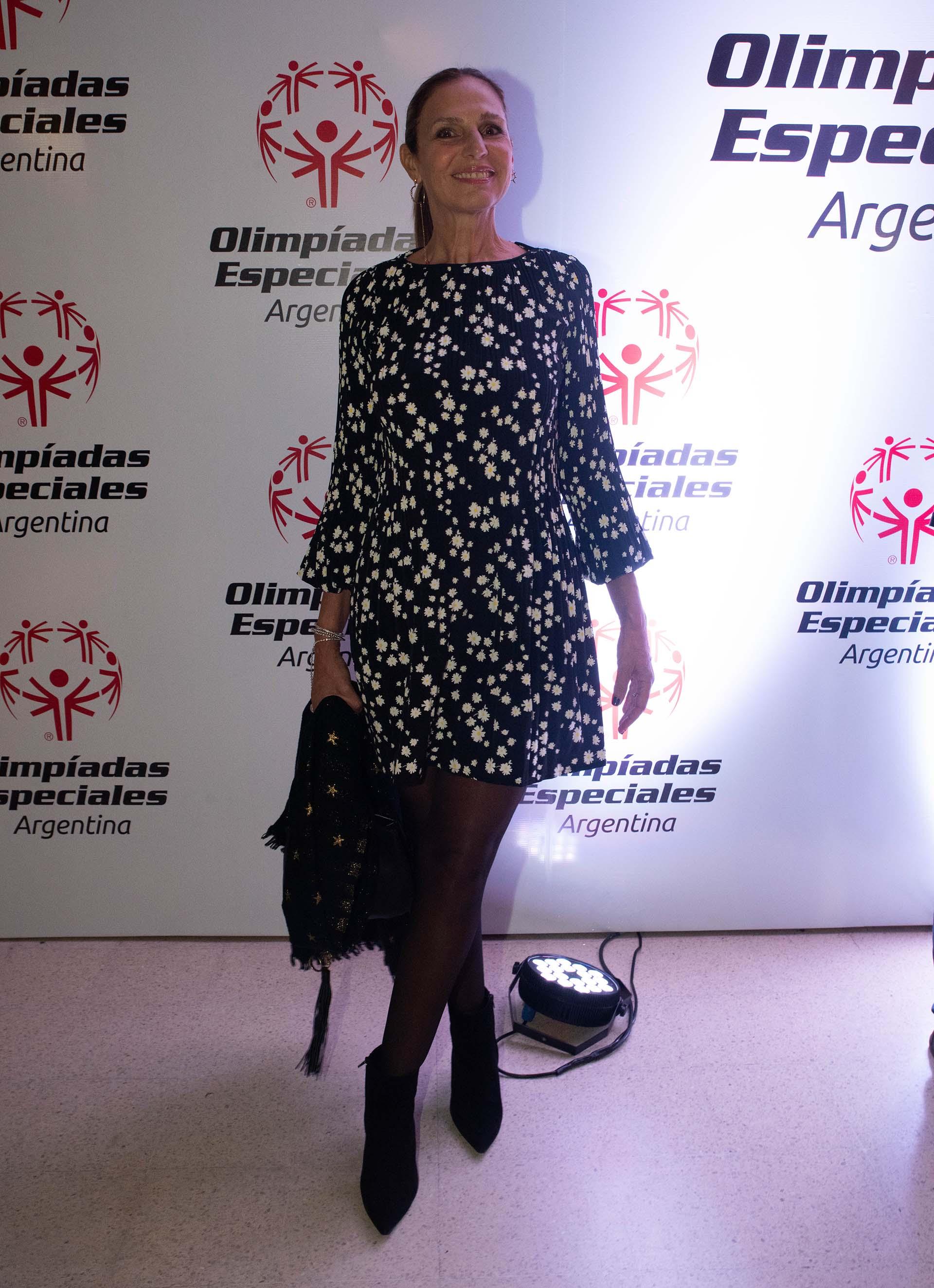 La modelo Ginette Reynal