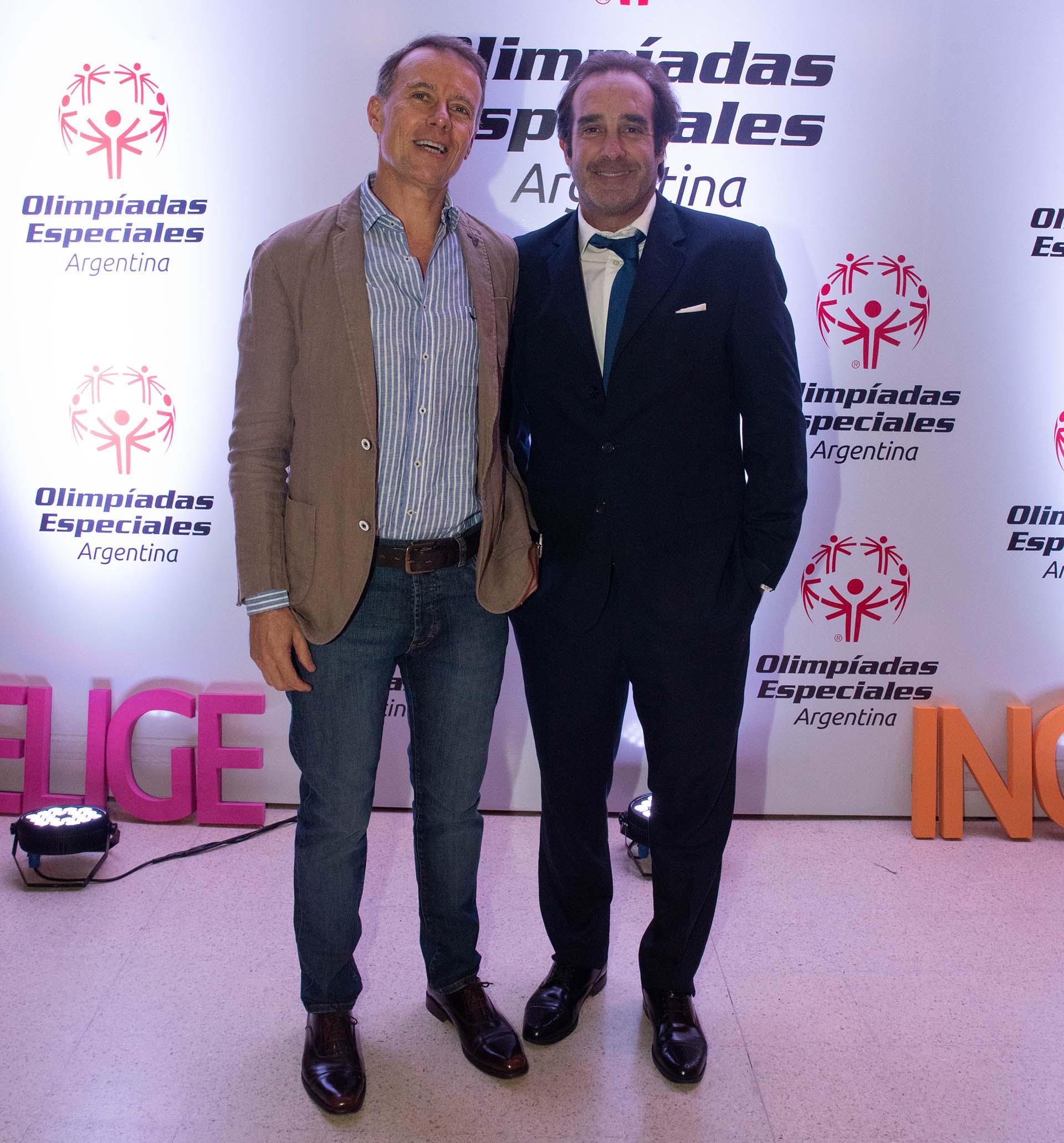 Los empresarios Carlos Etcheverry y Fernando Peralta Ramos