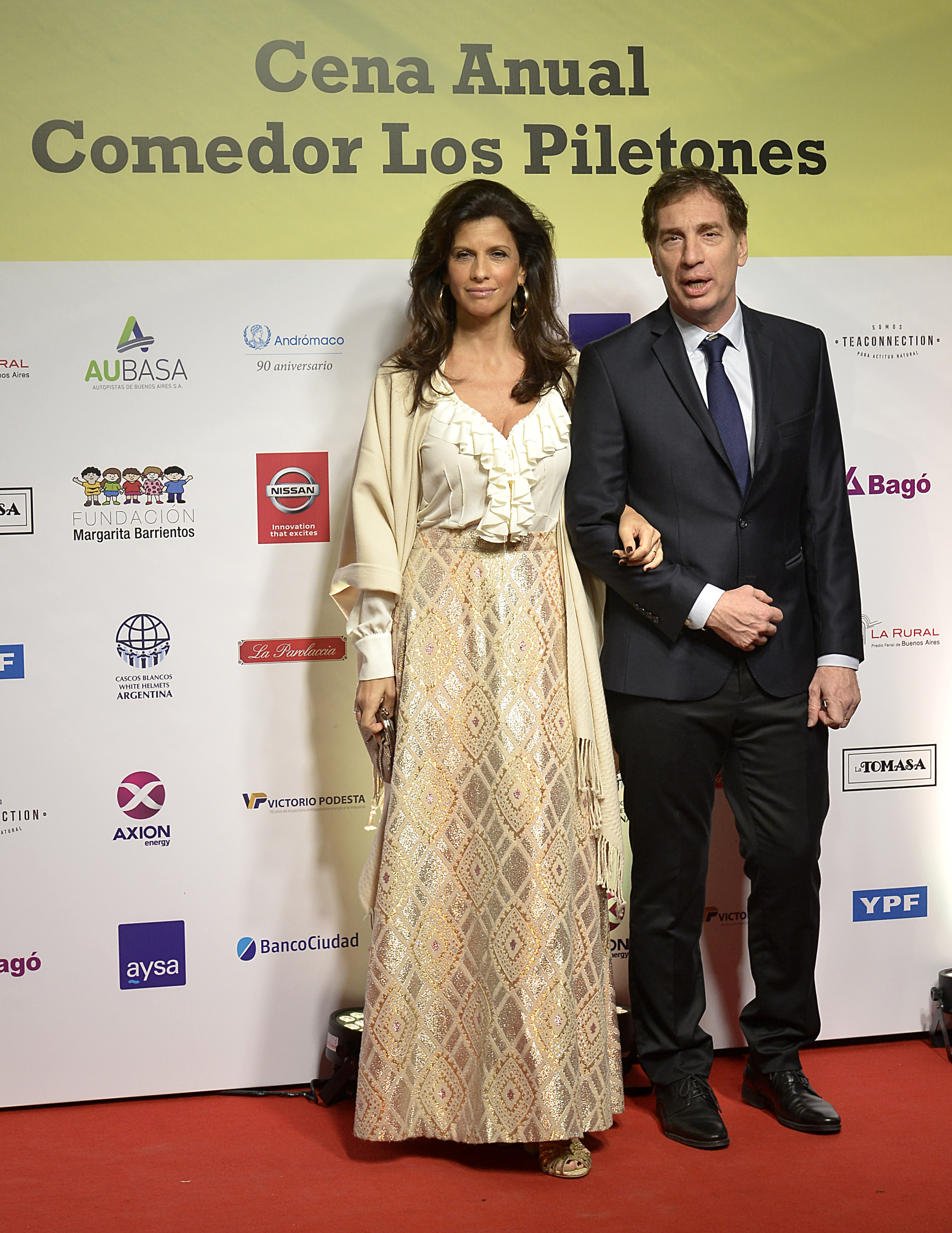 El vicefe de Gobierno de la Ciudad, Diego Santilli y Analía Maiorana