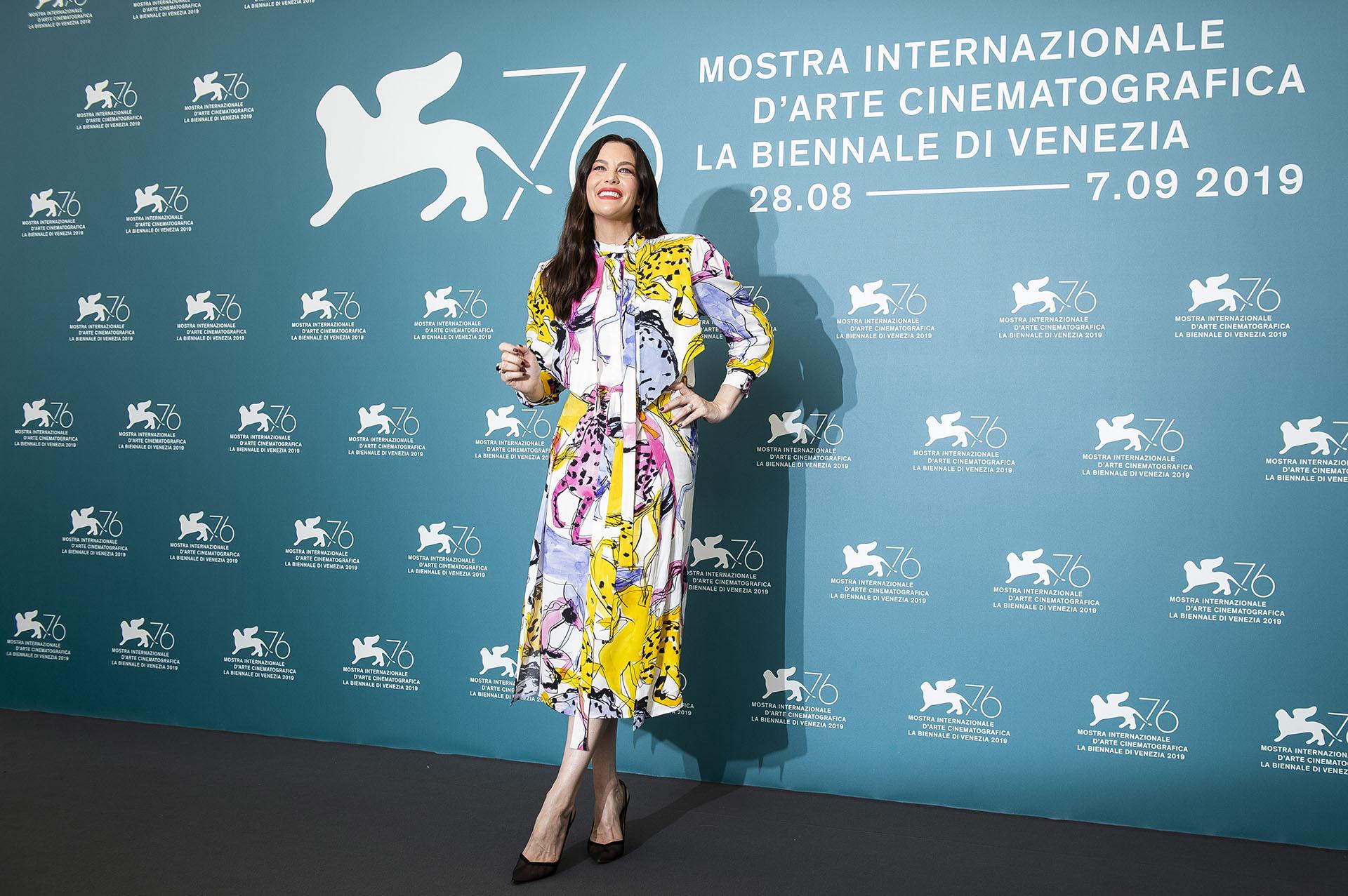 Liv Tyler en la apertura del Festival de Venecia
