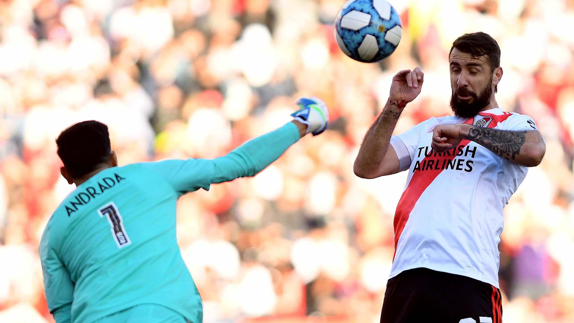 Esteban Andrada se mostró firme en sus intervenciones y consiguió quedarse con el récord de la valla más invicta en la historia de Boca
