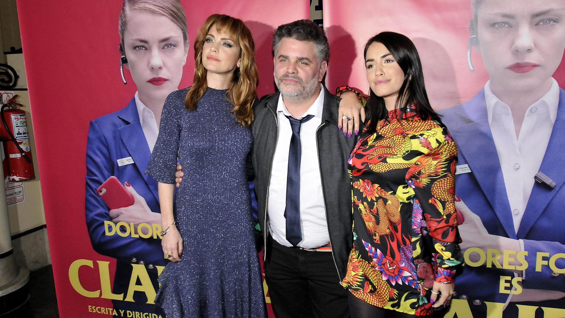 Dolores Fonzi, Sebastián De Caro y Lali Espósito