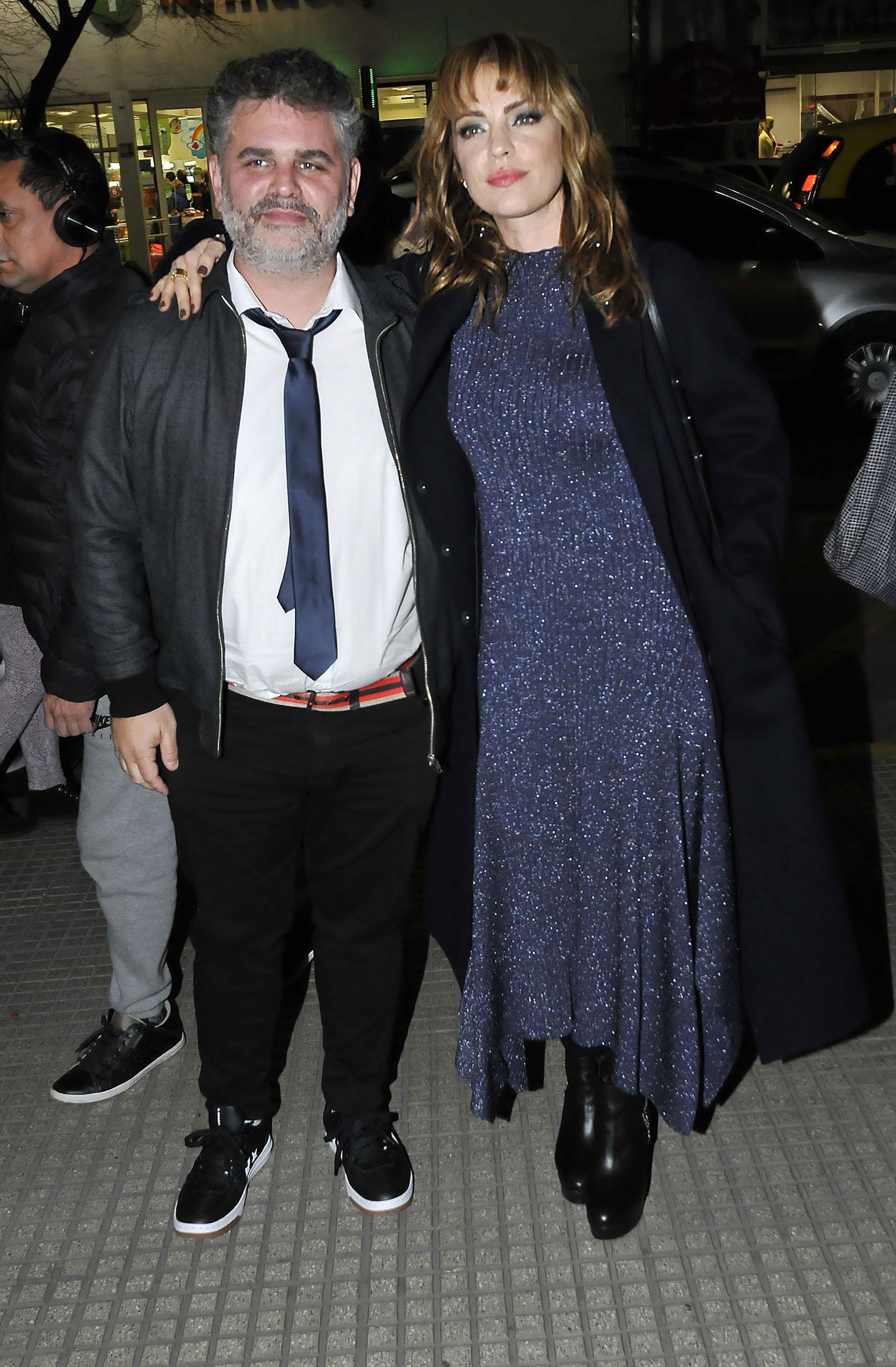 Sebastián De Caro, el director de la película, y Dolores Fonzi, quien protagoniza la ficción