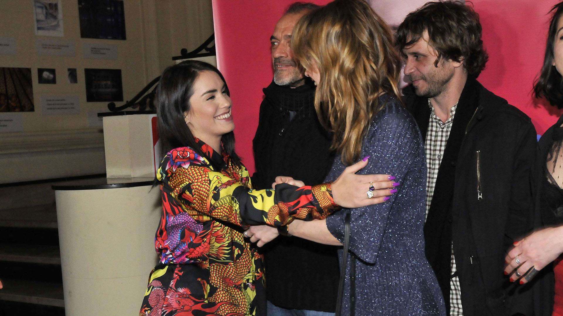 Con una sonrisa, Mariana despidió a Dolores (Fotos: Darío Batallan / Teleshow)