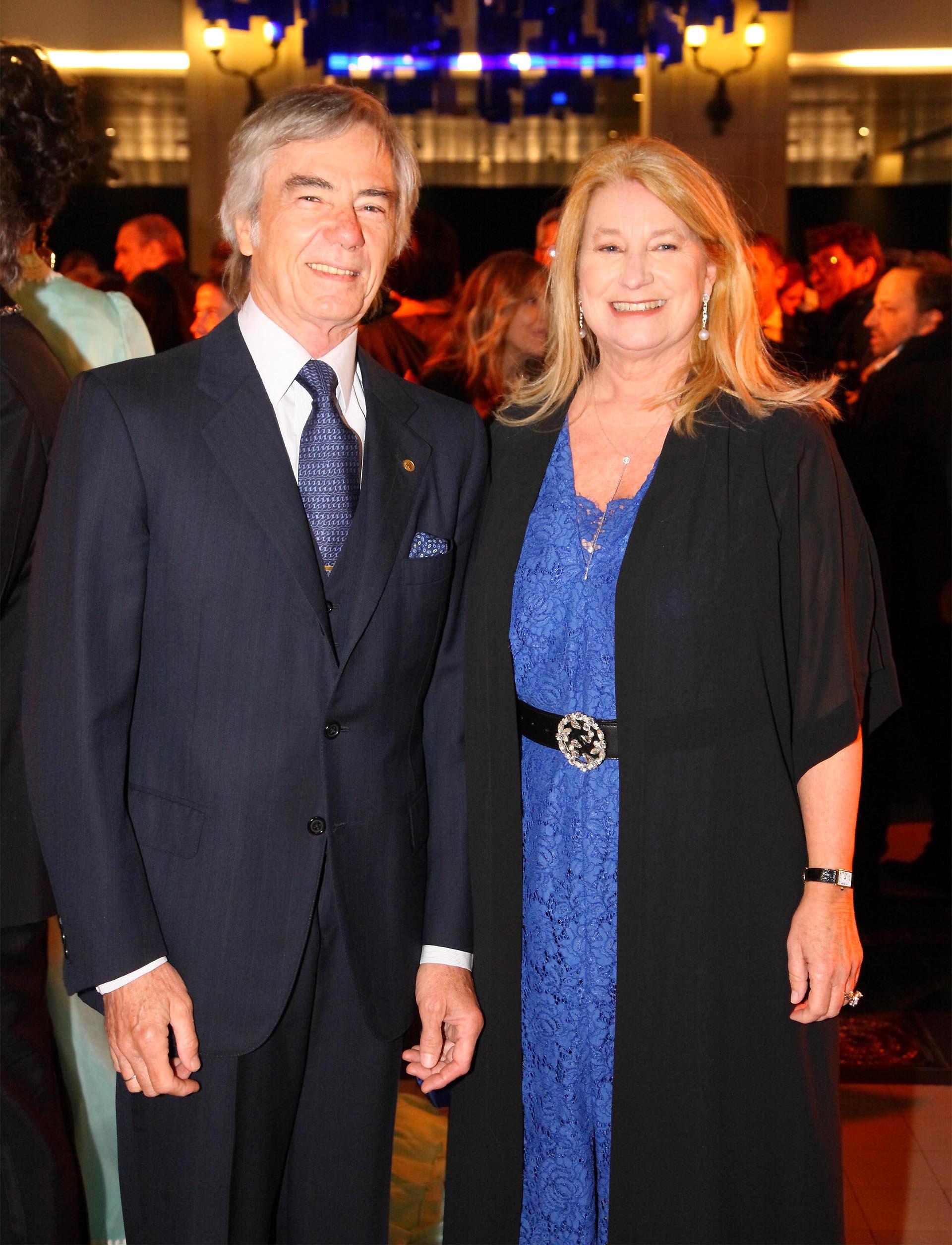 Charlie Blaquier y María Taquini de Blaquier