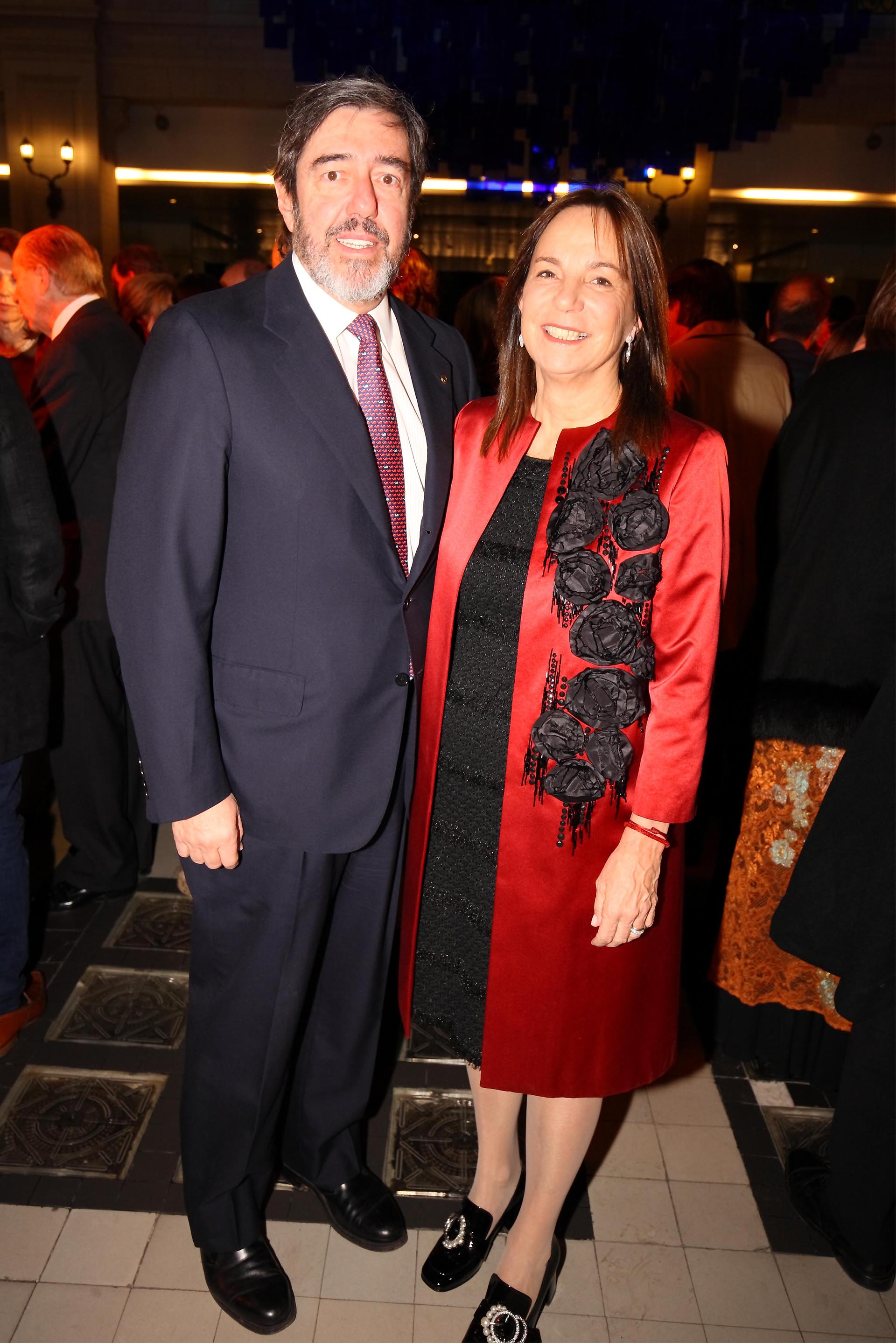 Alejandro Blaquier y María Mazzini de Blaquier