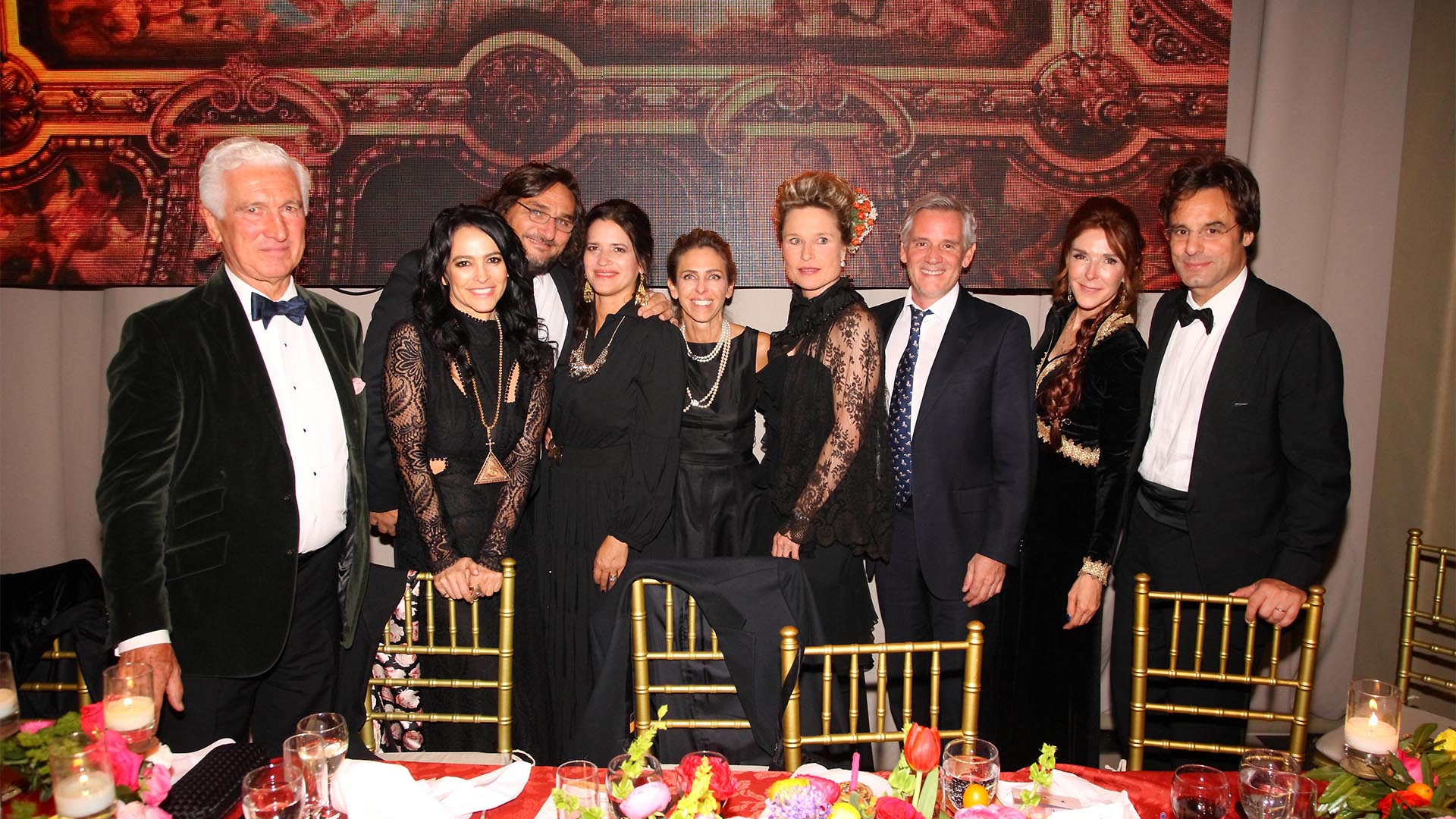 Alex Reynal, Cindy Cohen, Martín y Mijel Kweler, Mariana Bagó, Silke Reynal, Juan Pablo Bagó, Pat Vergez y Lodovico Rocca