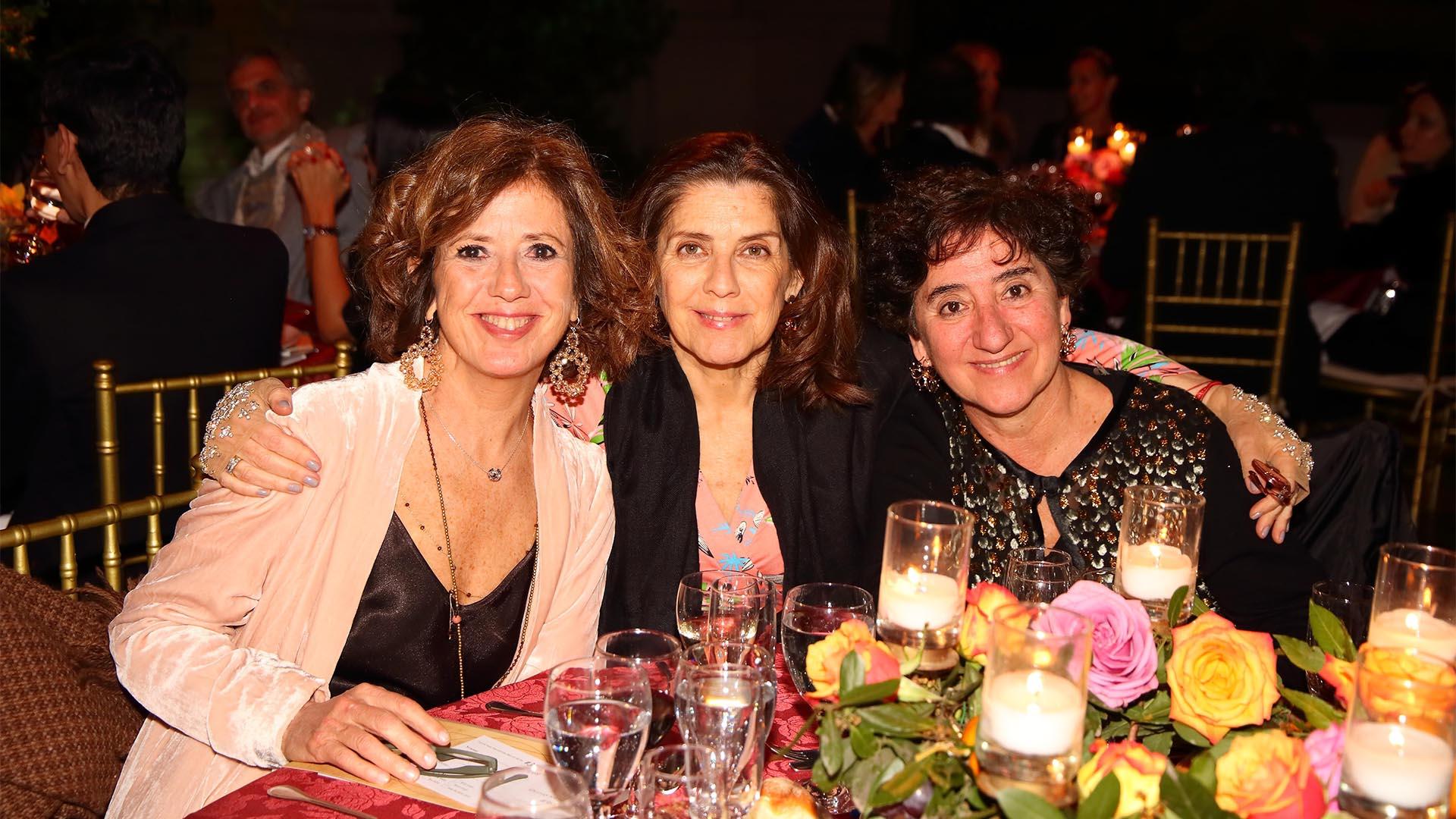 María José Wuillie Bielle, María Casado y Orly Benzacar