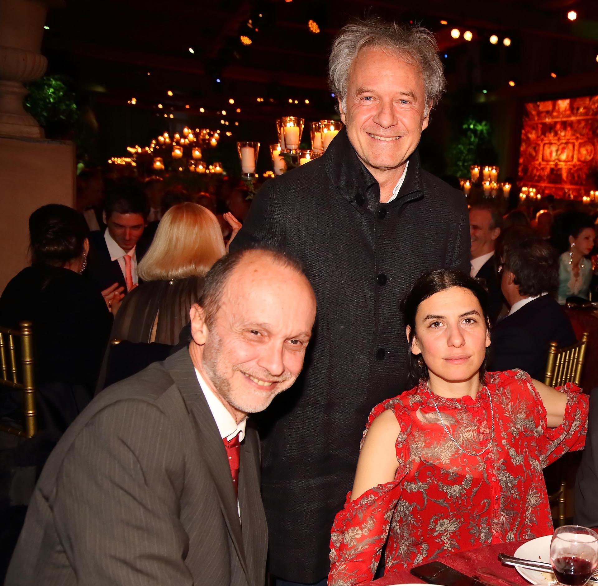 Pablo Siquier, Gimena Macri y Gabriel Guilligan