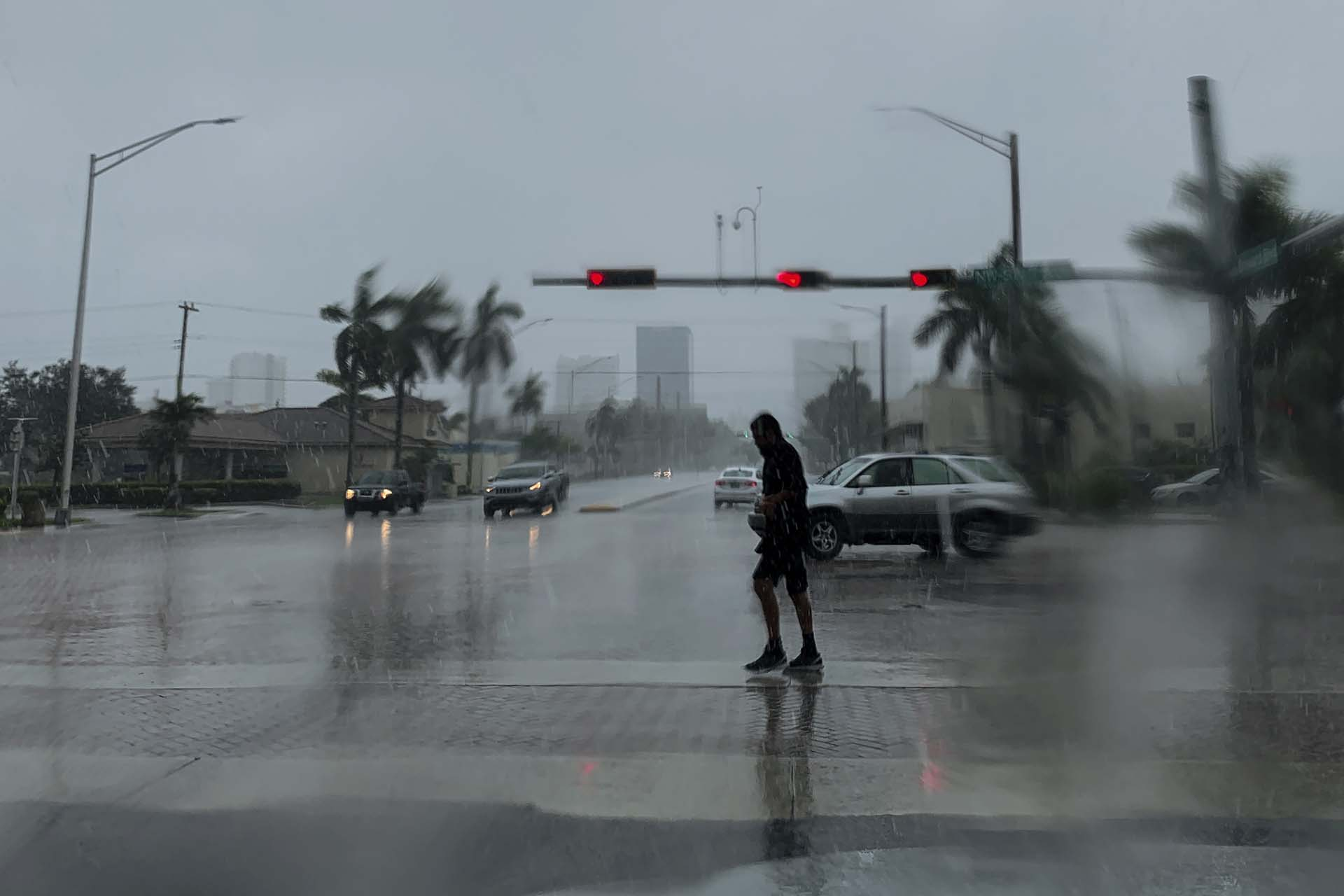 Fort Lauderdale, Florida, el lunes pasado (Photo by Eva Marie UZCATEGUI / AFP)