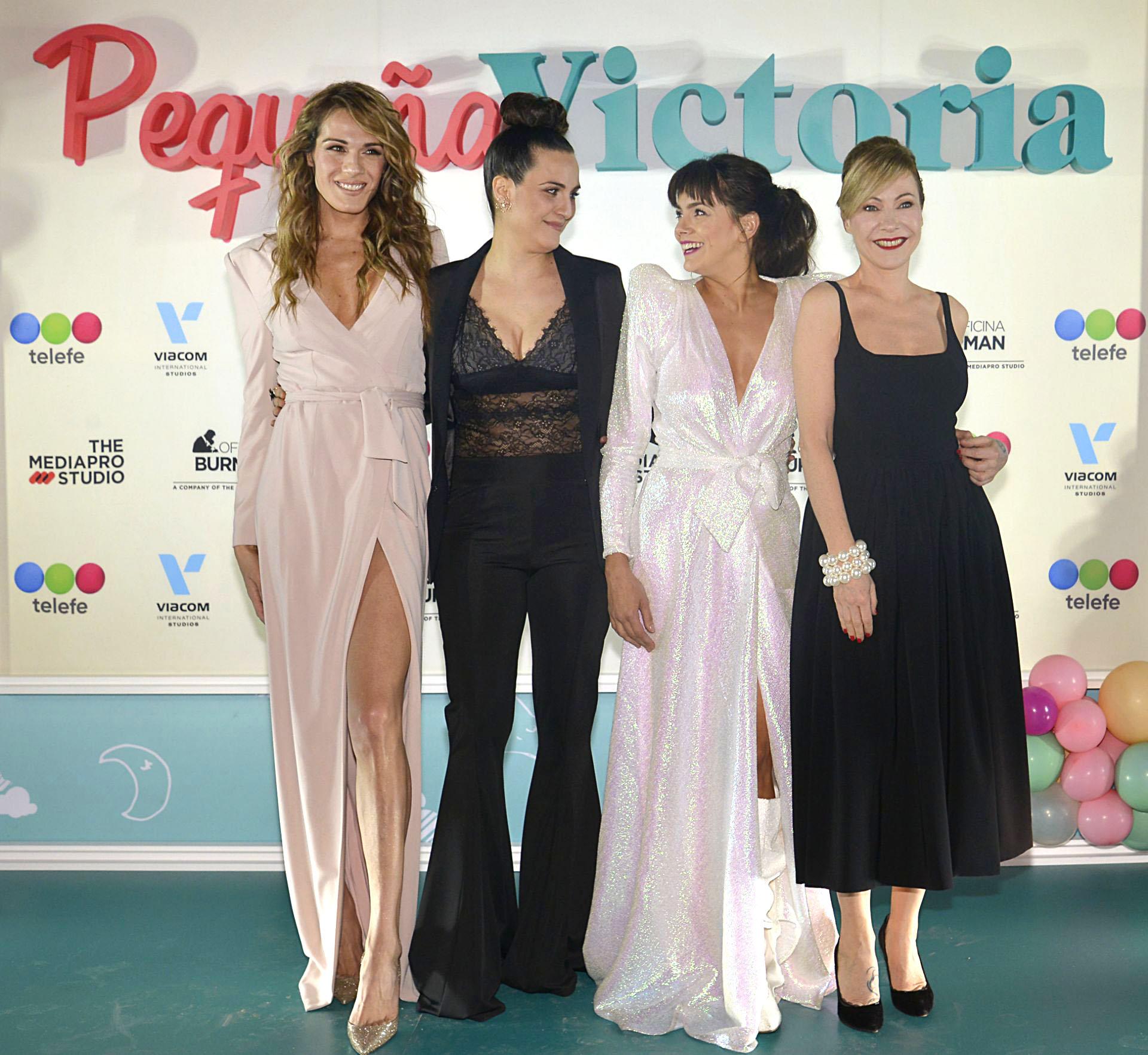 Mariana Genesio, Julieta Díaz, Natalie Pérez e Inés Estevez