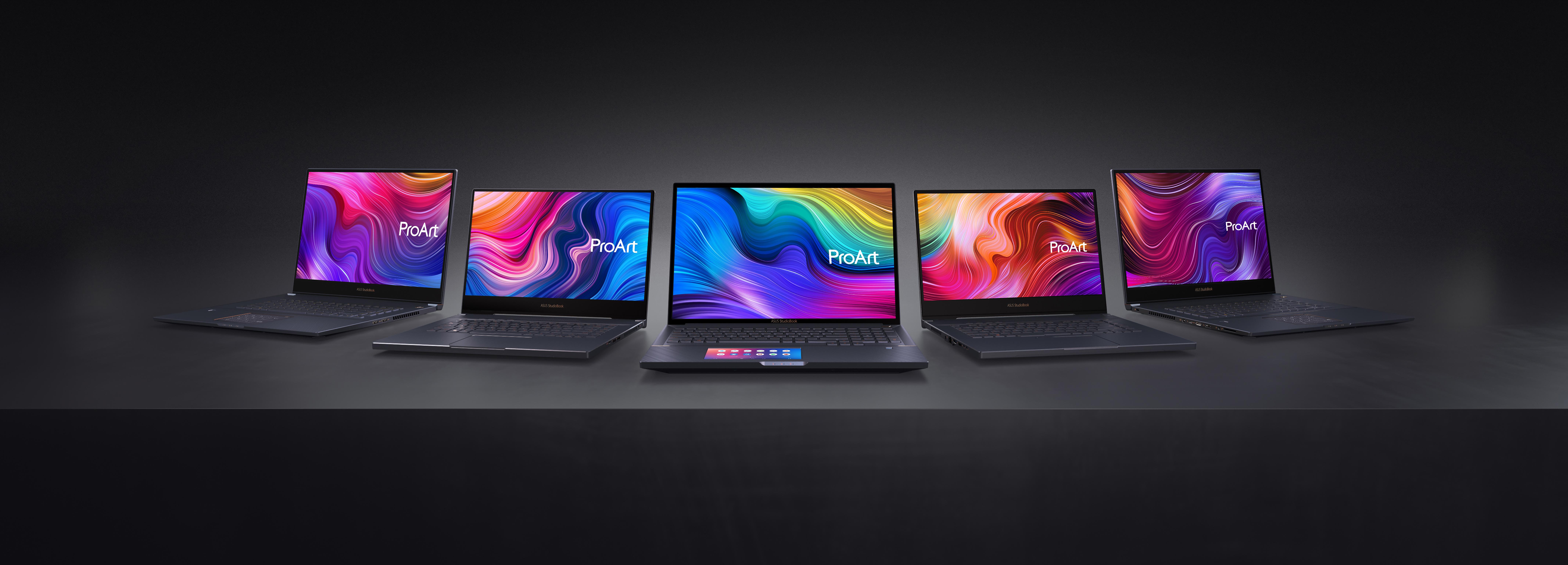 Asus renovó su línea de computadoras.