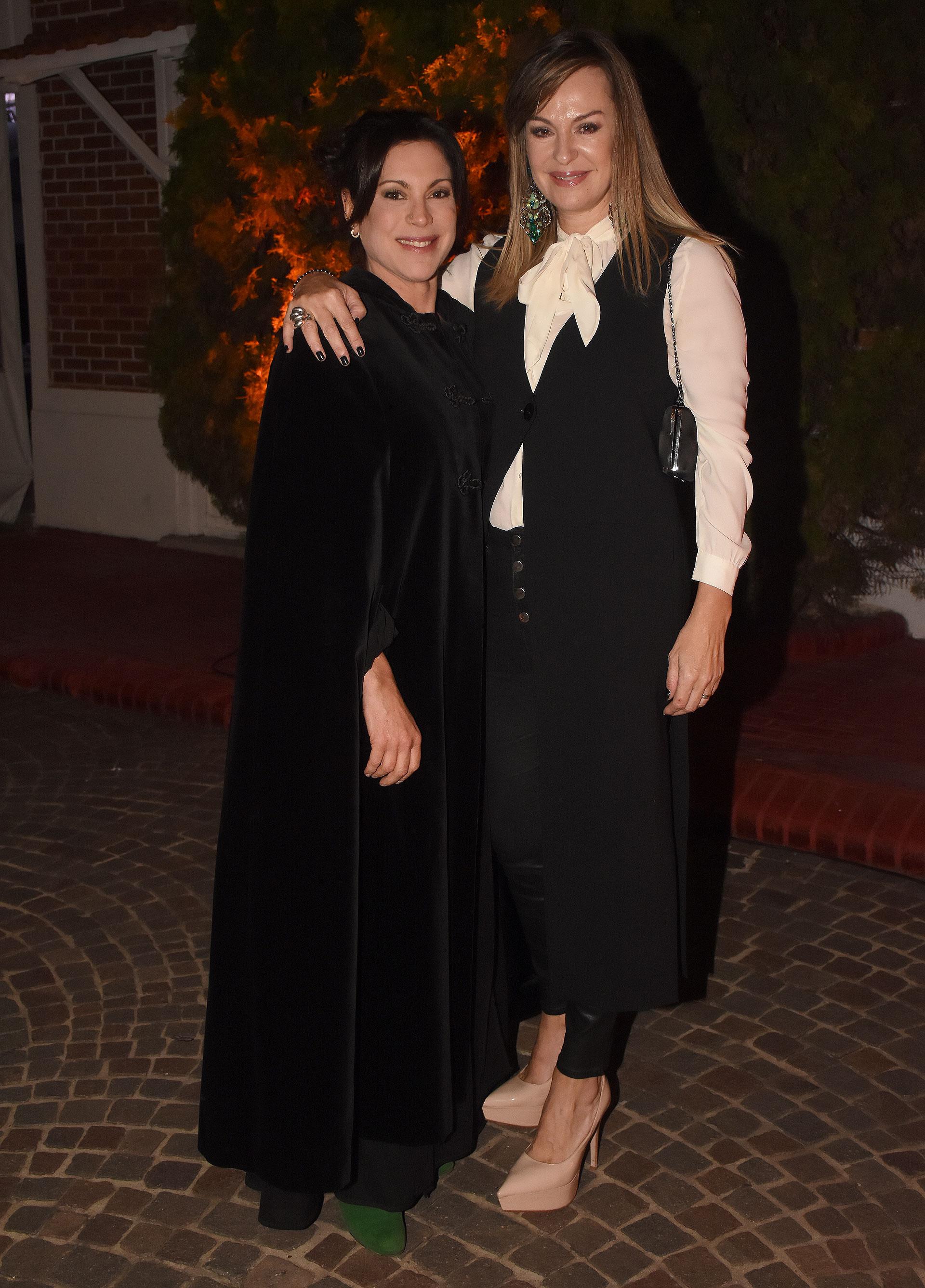 Fernanda Villaverde y Juana Santillán