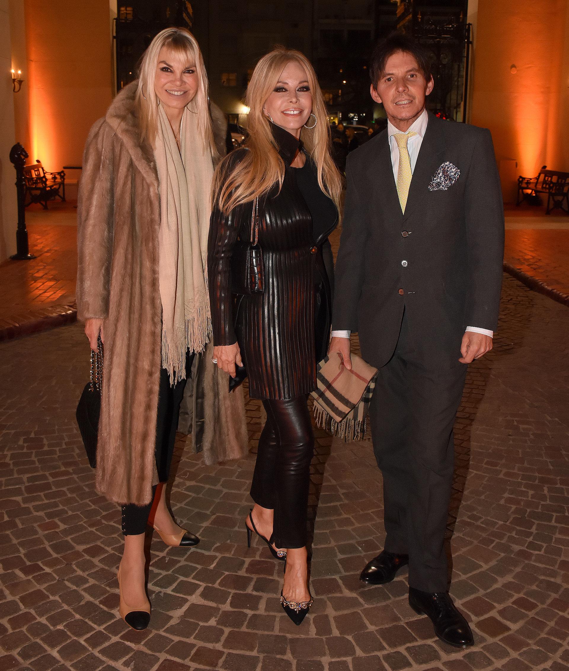 Delfina Frers, Graciela Alfano y Gerard Confalonieri