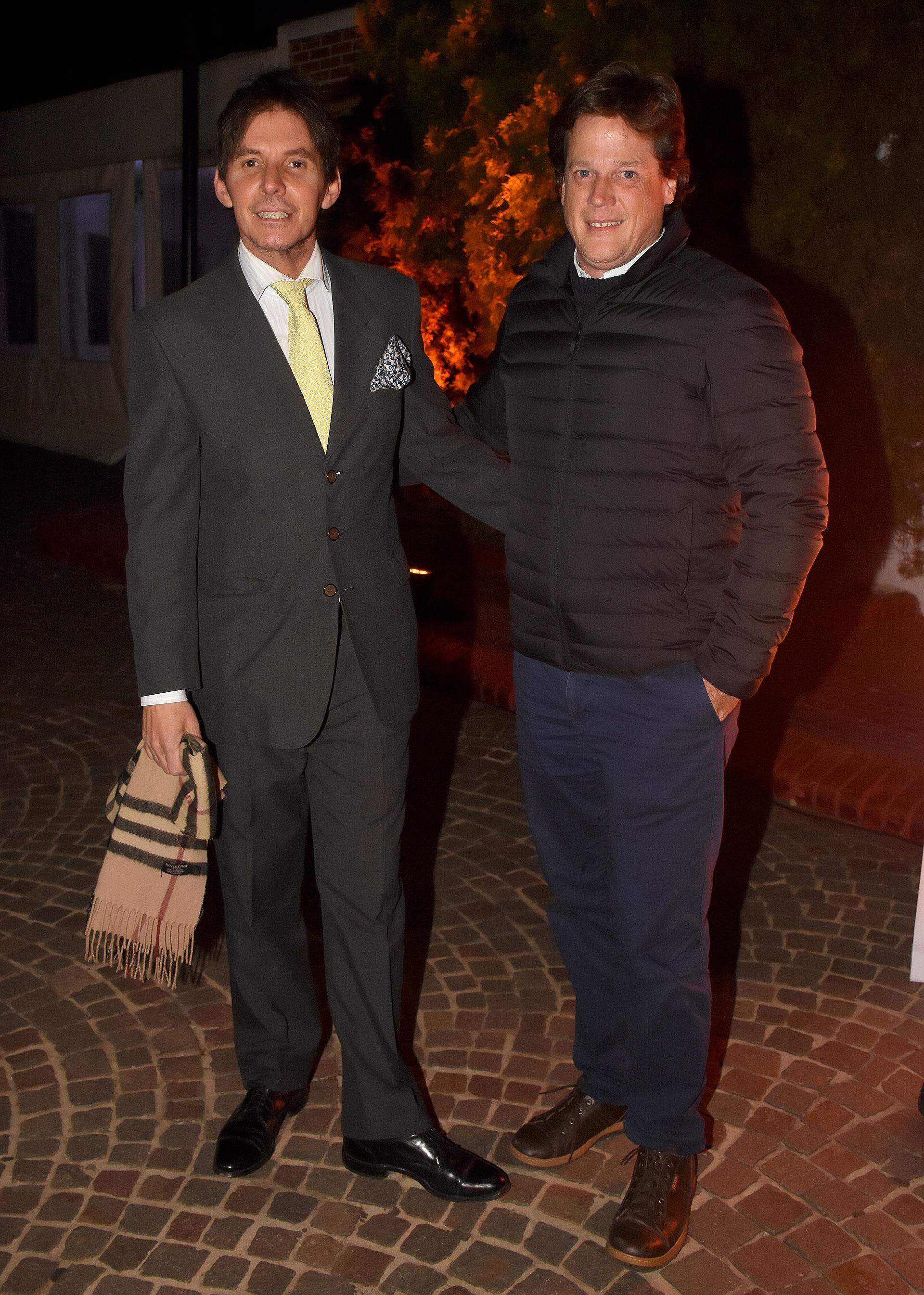 Gerard Confalonieri y Máximo Achaval