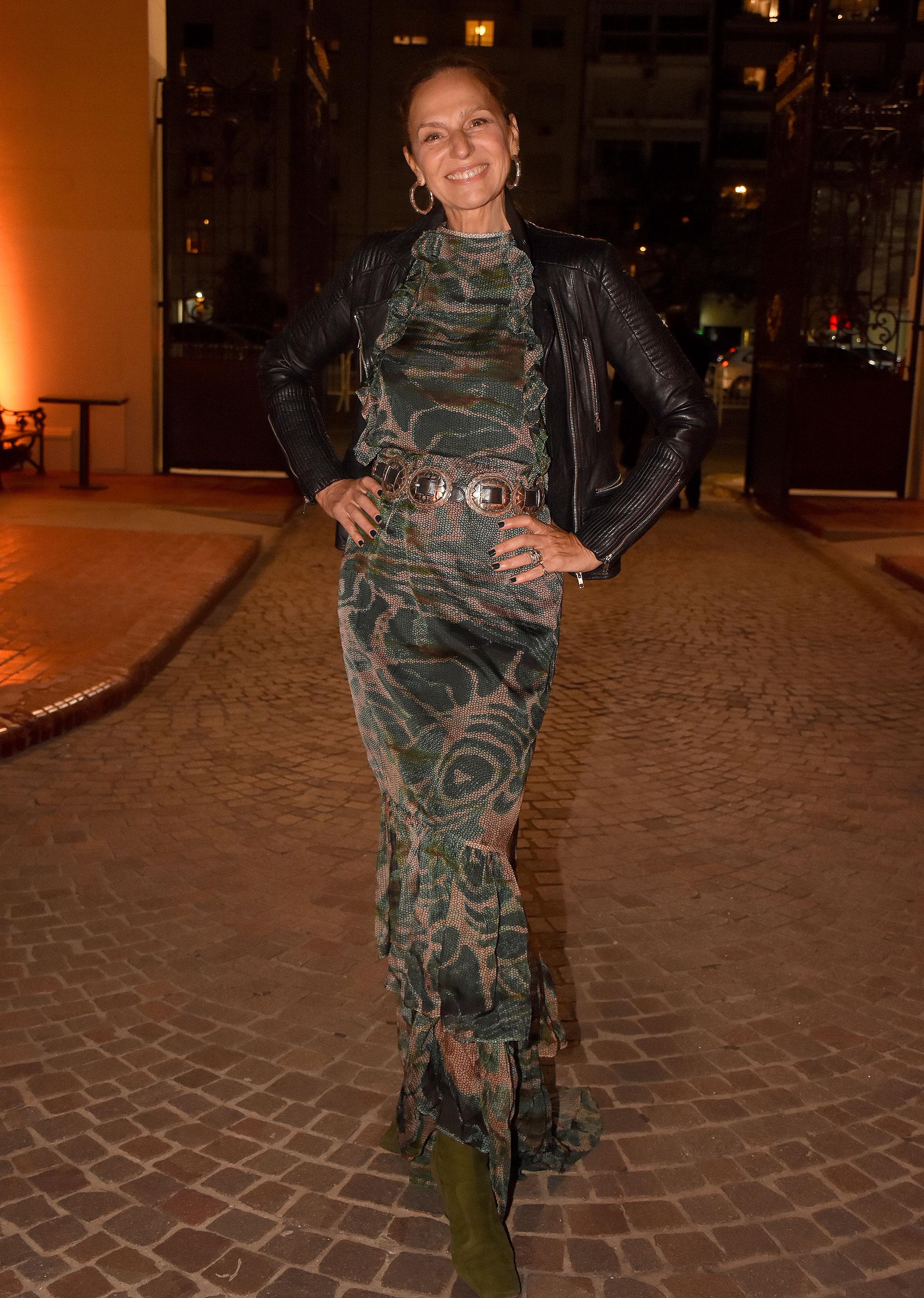 Ginette Reynal, modelo, empresaria, conductora y actriz argentina