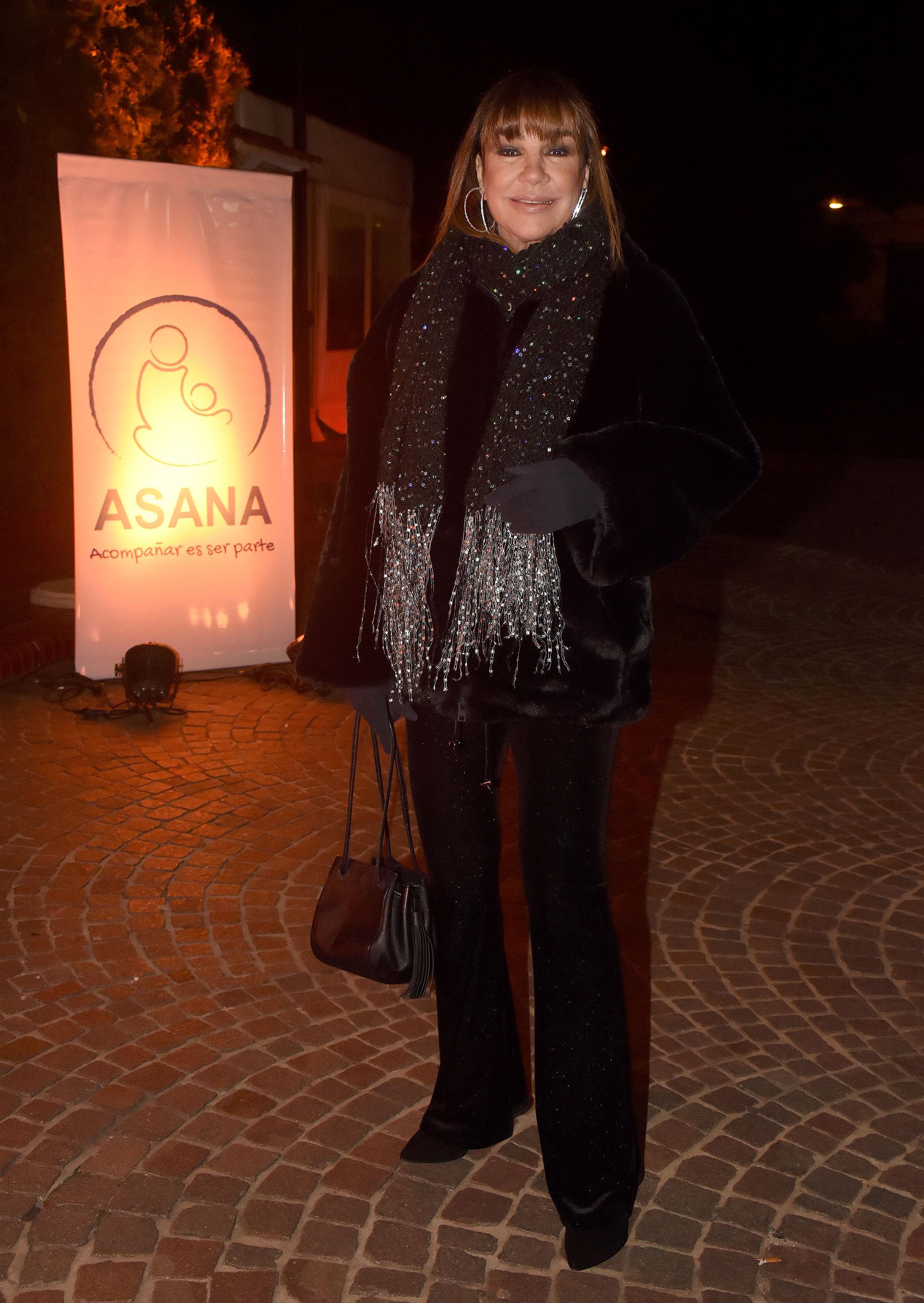 La ex modelo, actriz y conductora televisiva Mora Furtado