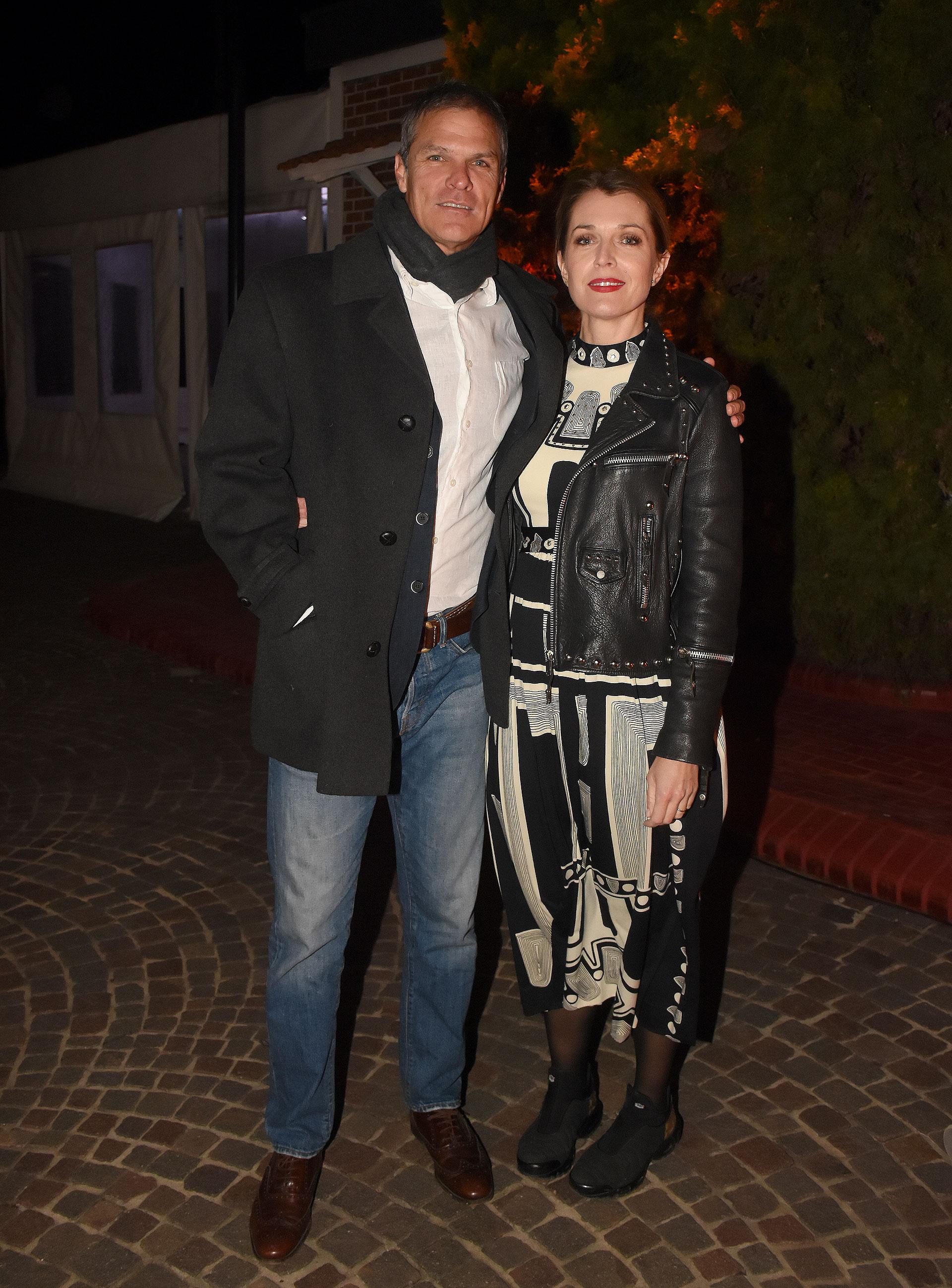 Anita Bereciartúa y Alejandro Agote