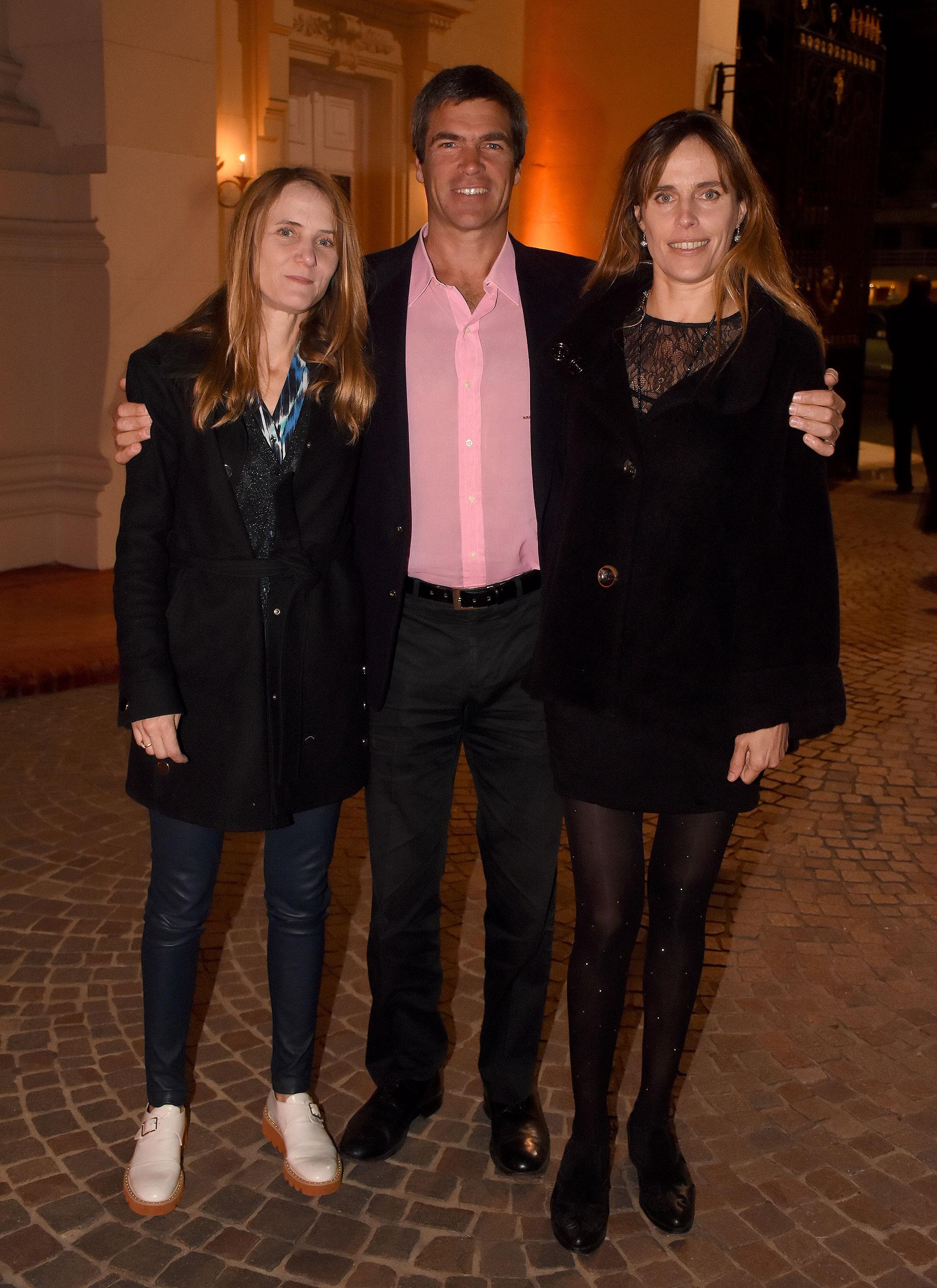 Agustina Lanusse, Hernán Agote y Lucía Vaca Vergara