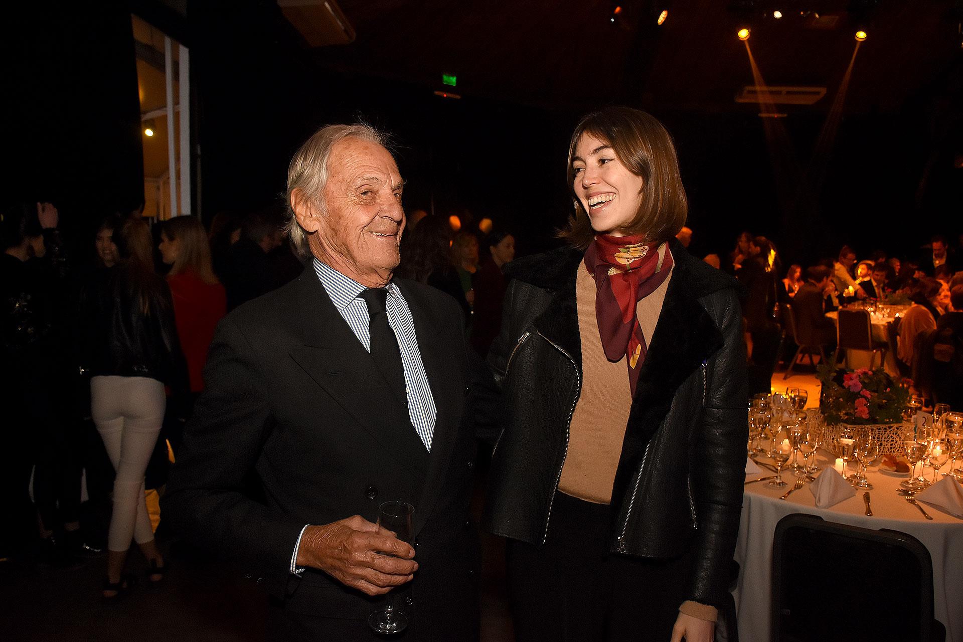 Daniel Tedin y Zelmira Frers