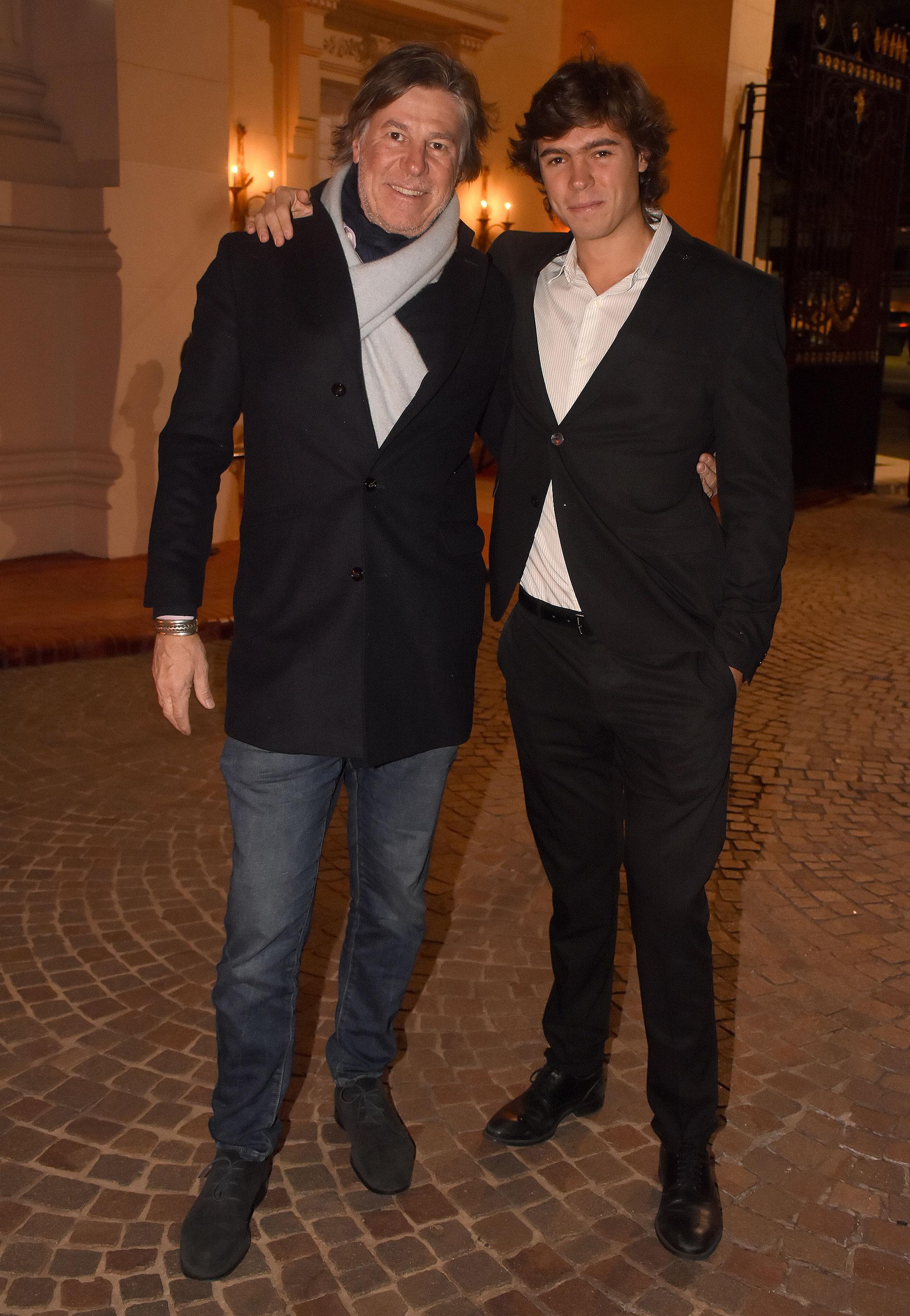 Ricardo y Santino Caffarone