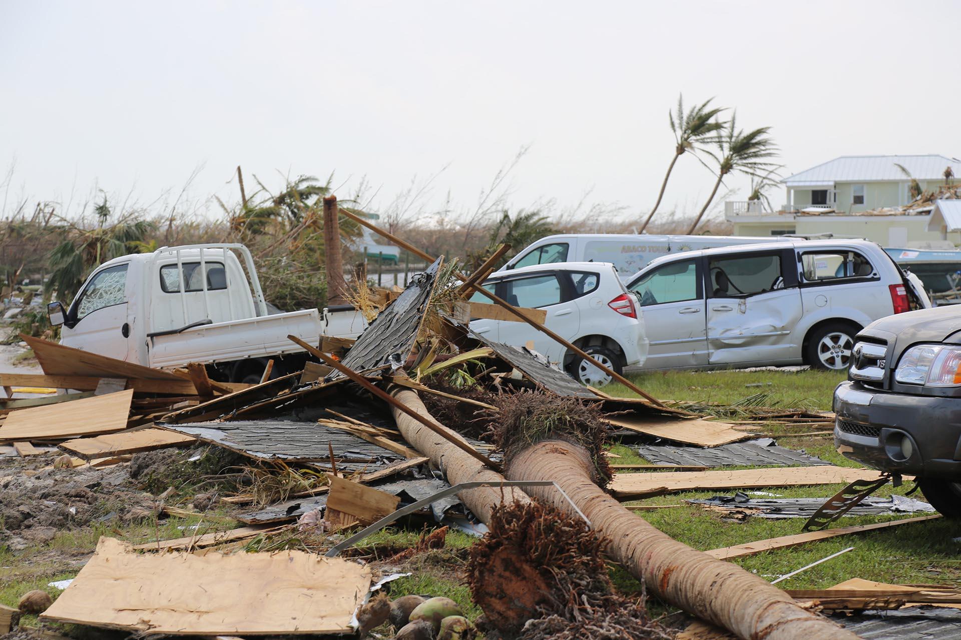 """Los informes oficiales dicen que la """"devastación no tiene precedentes""""."""