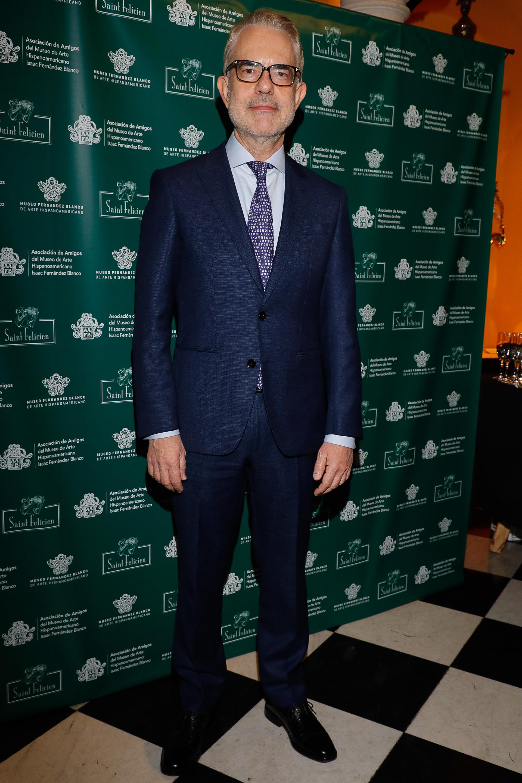 Embajador de Grecia Dimitris Zevelakis.