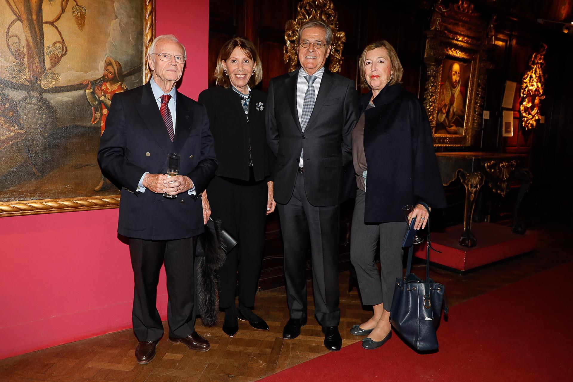 Carlos Ostenrieder y Sra, Luis Erize & Mónica Gancia de Erize