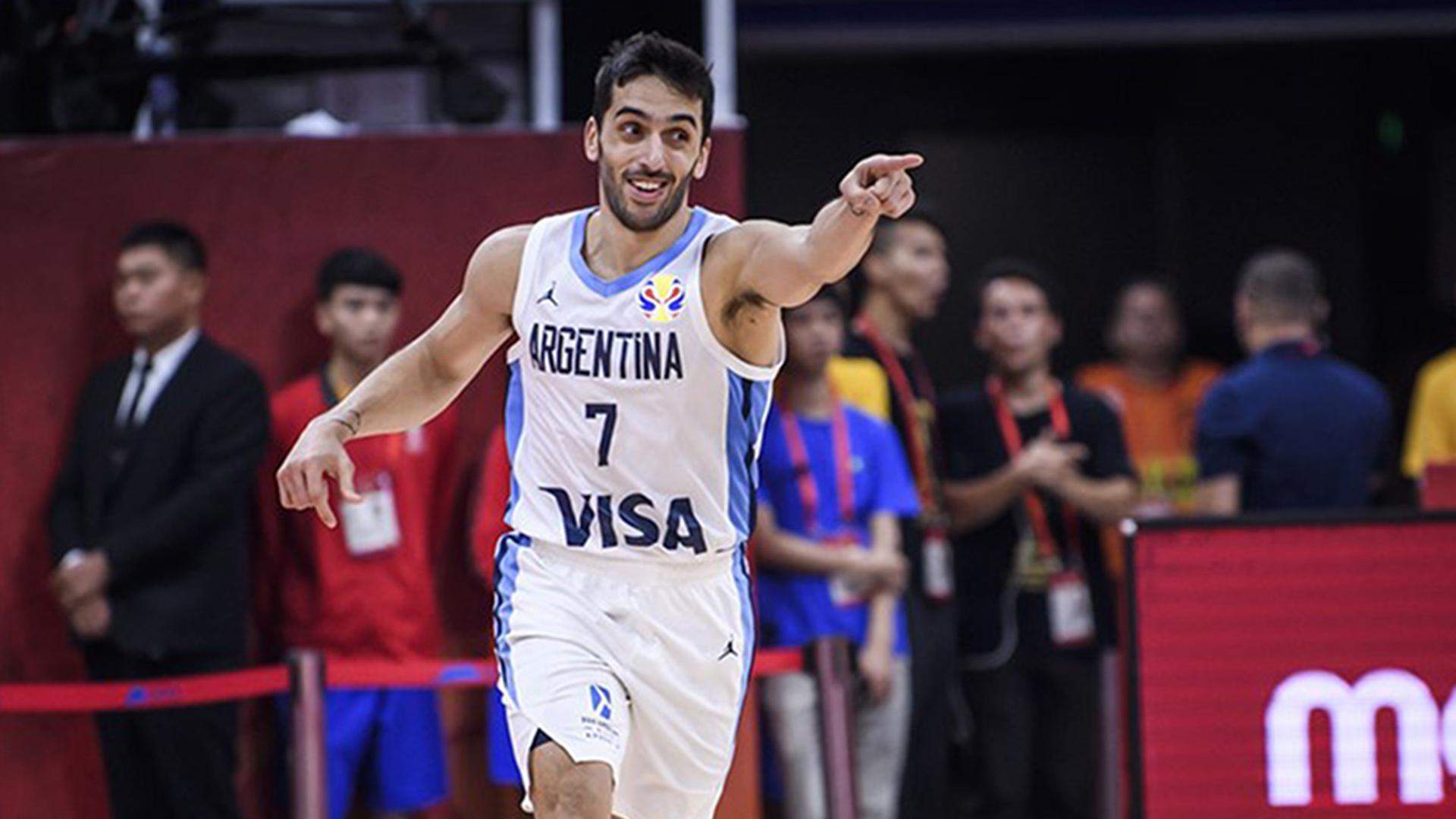 La asistencia magistral de Facundo Campazzo, el MVP de Argentina ante  Venezuela - Infobae
