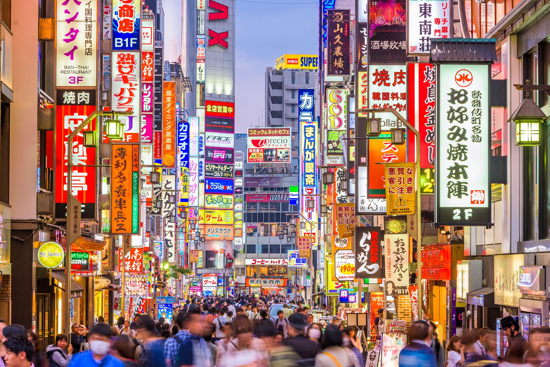 La capital japonesa es conocida mundialmente por la cantidad de visitas que recibe todos los días por parte de aquellos que buscan conocer la cultura y experimentar los secretos y el estilo de vida de esta ciudad vibrante (Shutterstock)