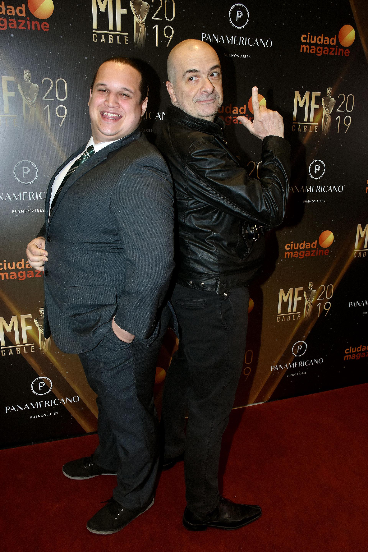 Gabriel Santiago Cúneo y Atilio Veronelli