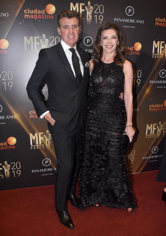 Fabiana Araujo y su marido, el economista AlejandroPérez Escoda