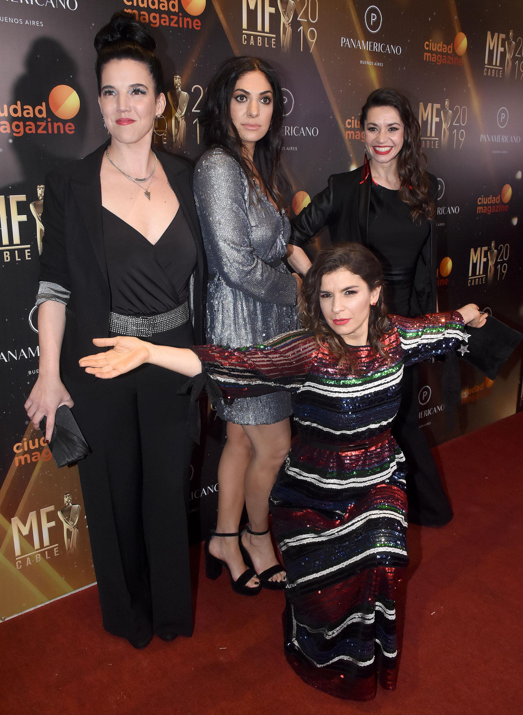 Dalia Gutmann frente a Natalia Carulias, Connie Ballarini y Fernanda Metilli